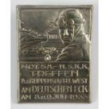 Abzeichen: Motorisierte SA-NSKK Treffen am Deutschen Eck 1933