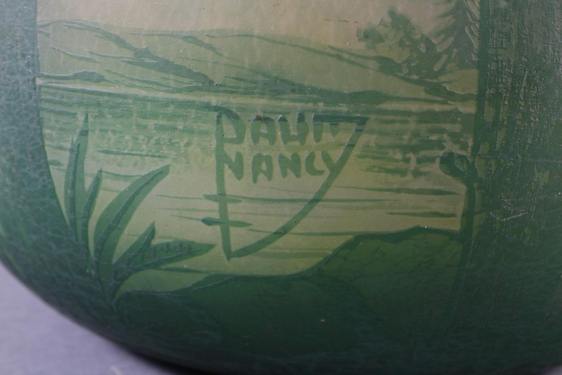 Daum Nancy, Vase Frankreich um 1900 - Bild 7 aus 9