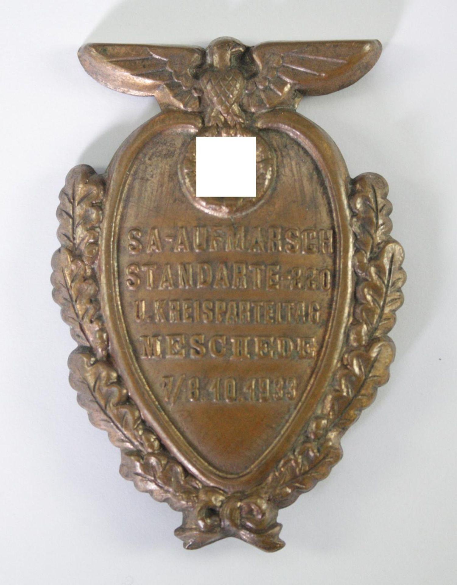Abzeichen, SA-Aufmarsch Standarte 220 Meschede 1933