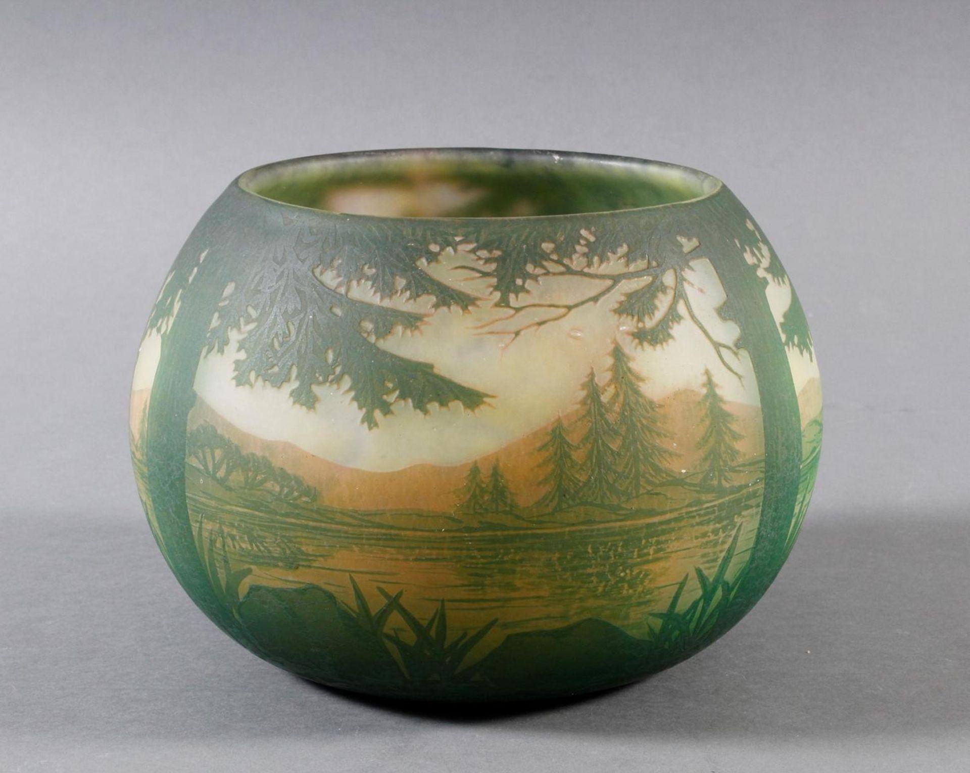 Daum Nancy, Vase Frankreich um 1900