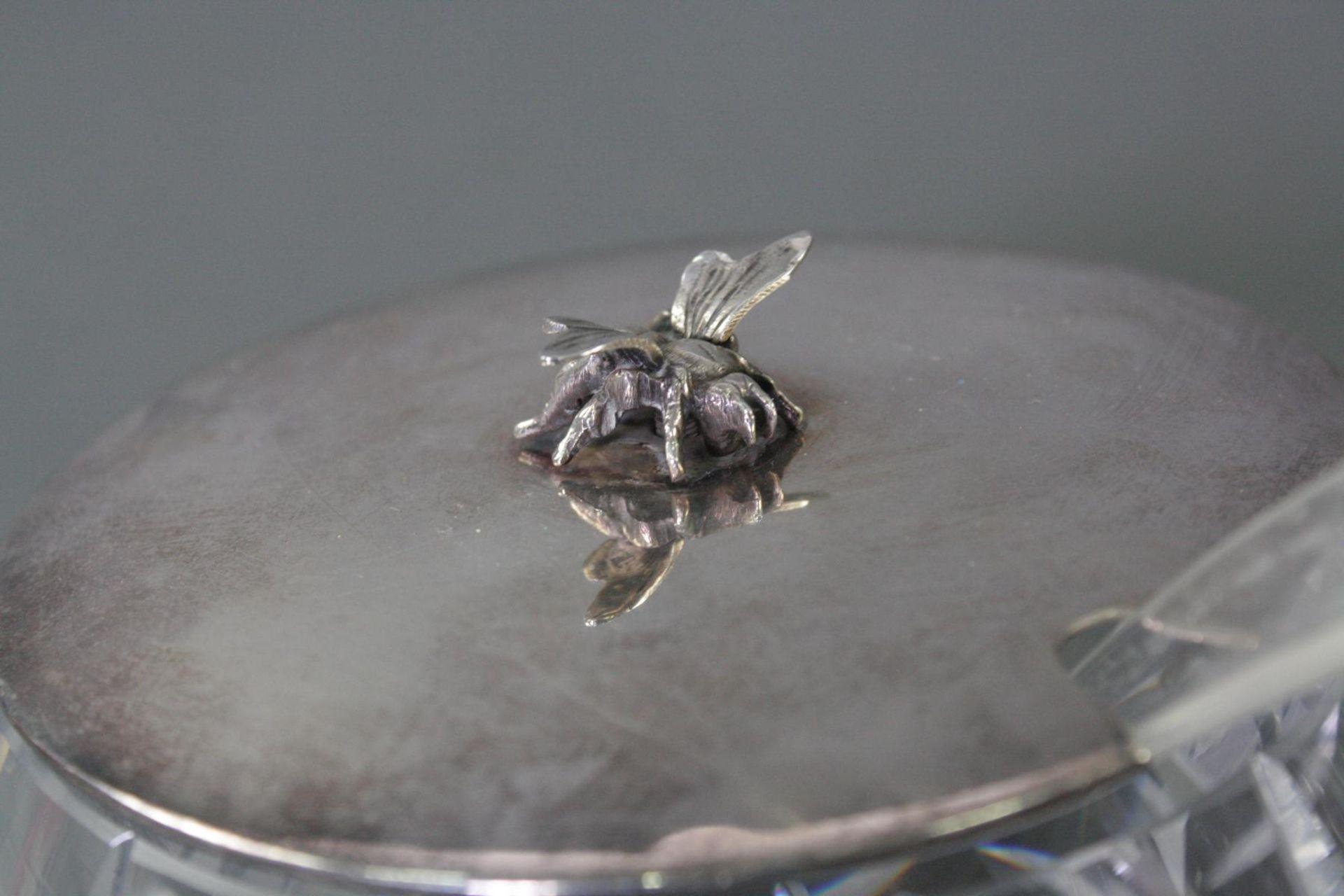 Zwei Schalen mit Silberdeckel - Bild 2 aus 4