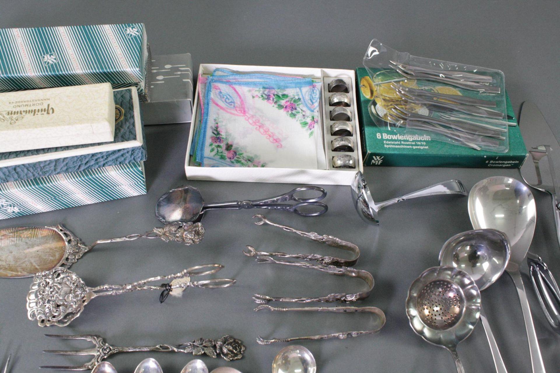 Silber und versilbertes Konvolut - Bild 2 aus 4