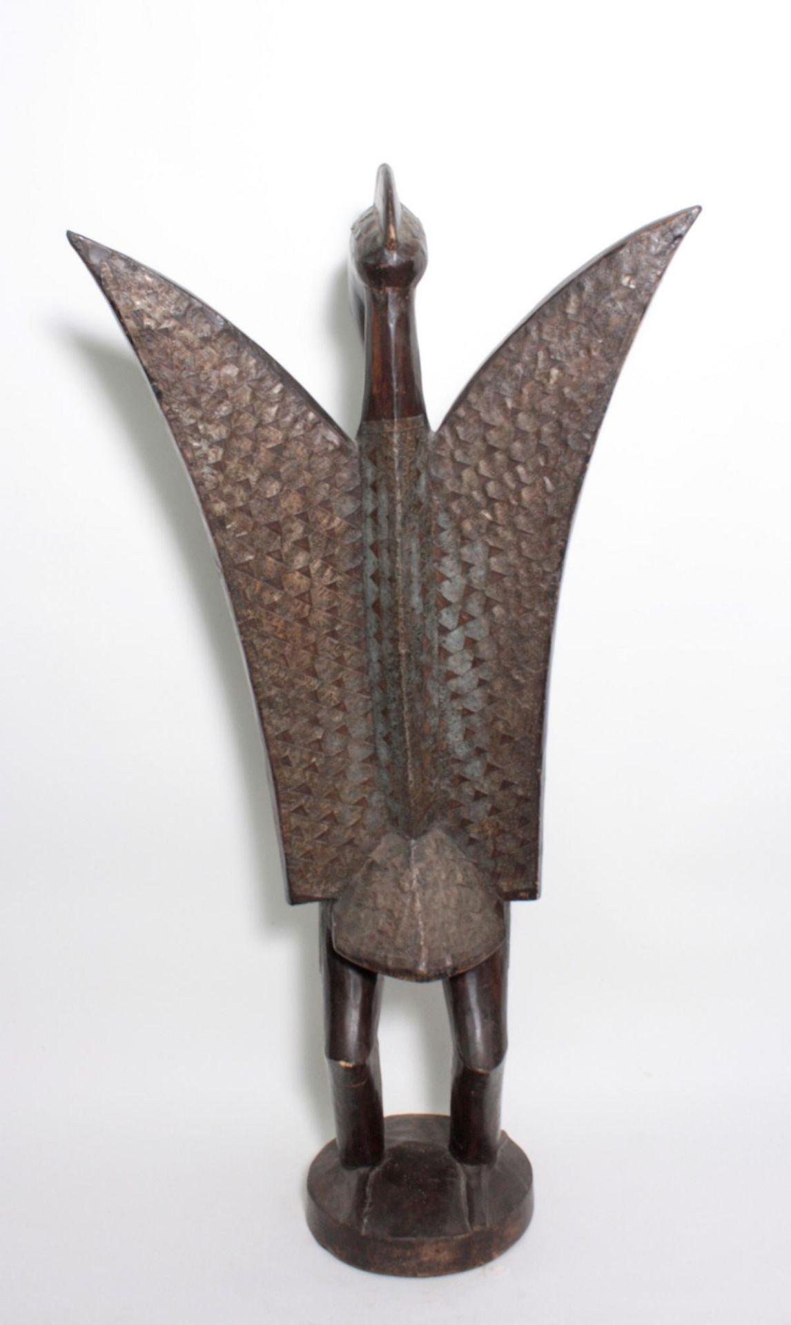 """Imposante Vogelfigur, """"Calao"""", Senufo, Elfenbeinküste, 1. Hälfte 20. Jh. - Bild 4 aus 5"""