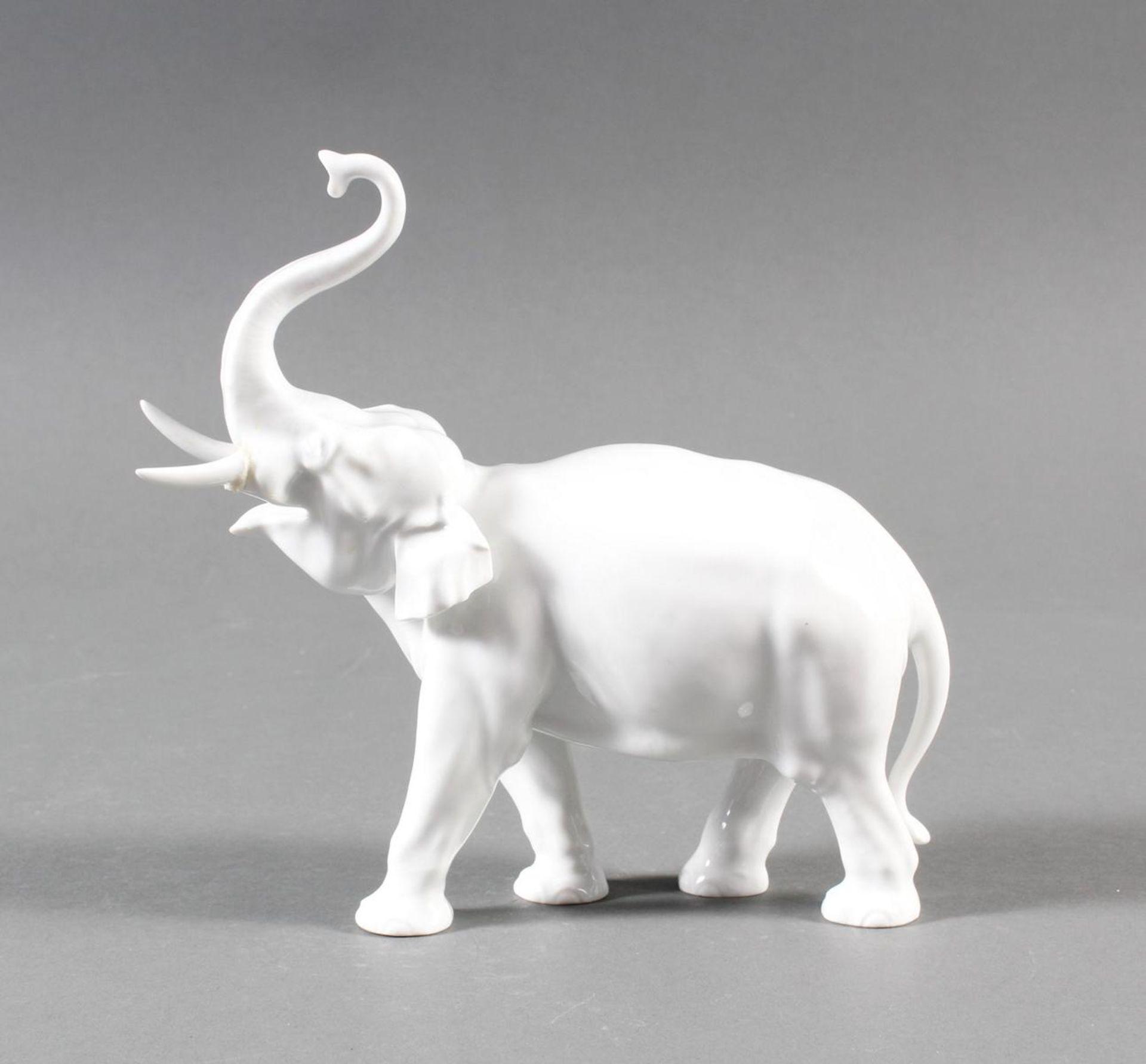 Meißen Elefant um 1940, 1. Wahl - Bild 7 aus 7