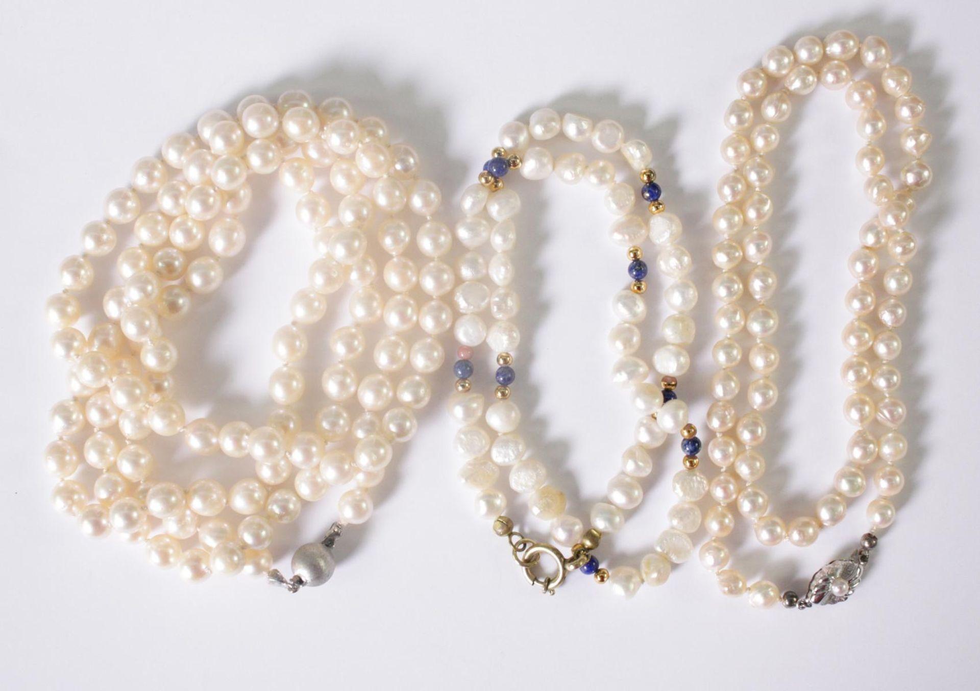3 Perlenketten - Bild 2 aus 2