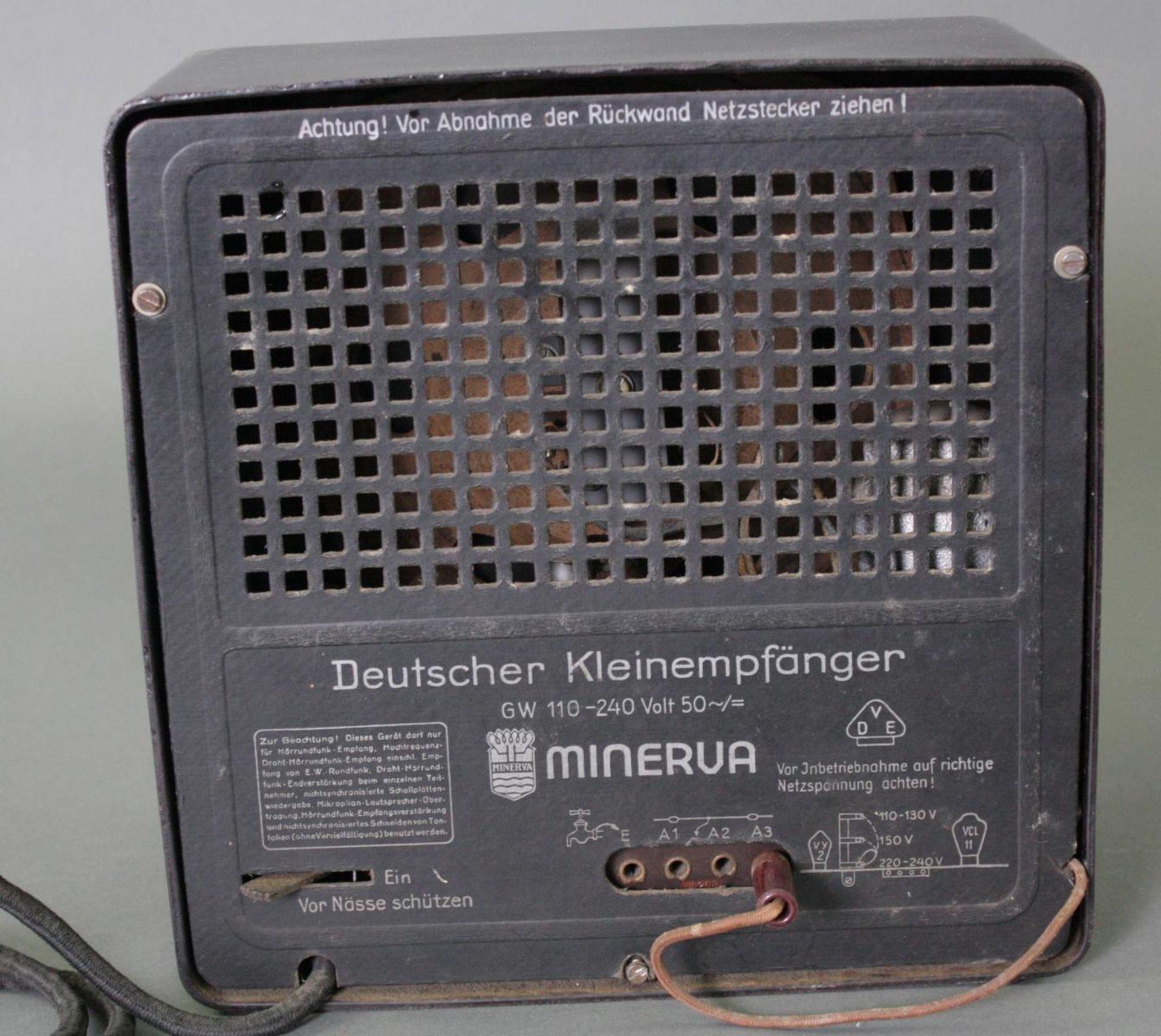 Deutscher Kleinempfänger Modell GW 110, DKE 1938 - Bild 3 aus 3
