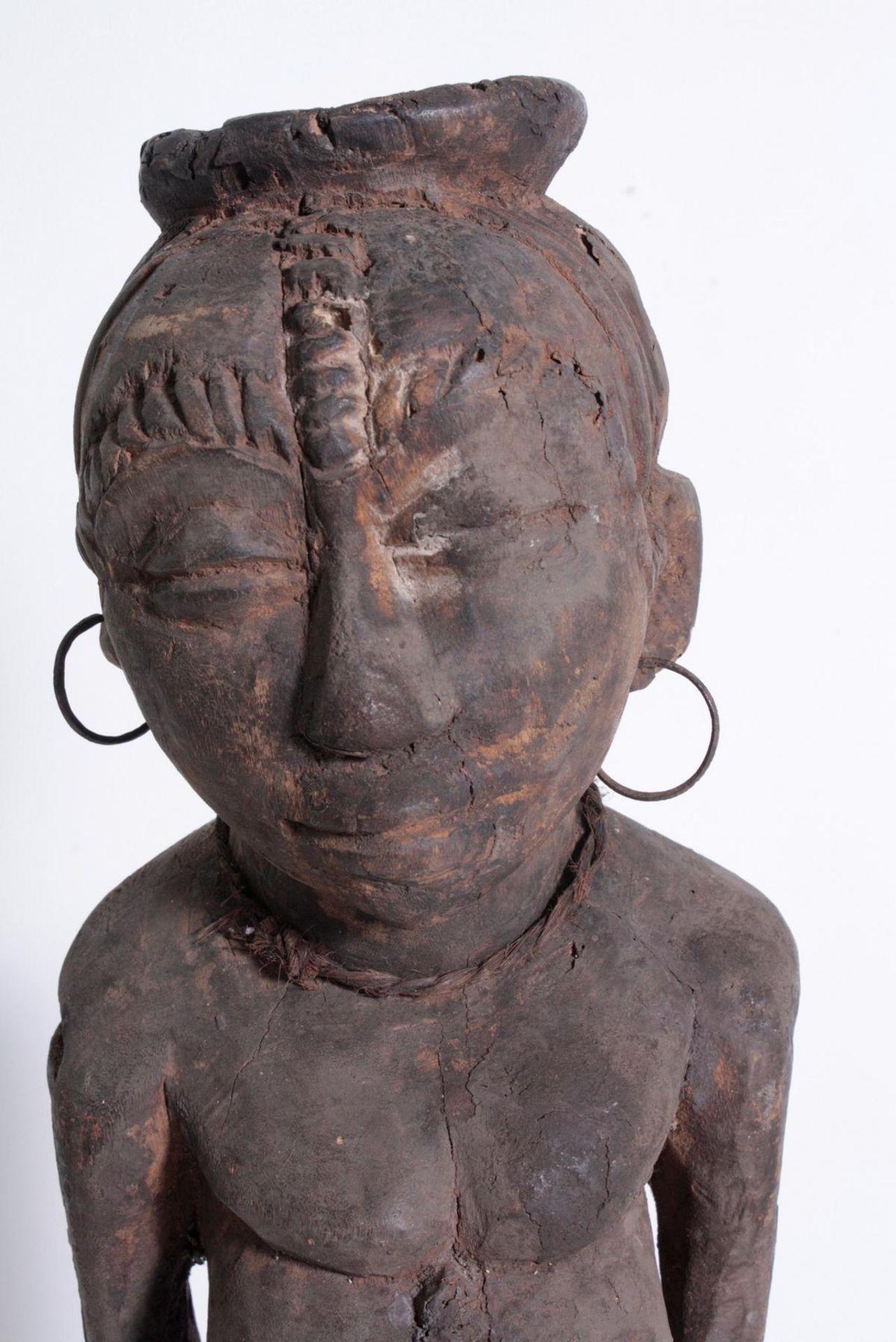Ältere Ahnen-Figur, Tabwa, D. R. Kongo - Bild 2 aus 14