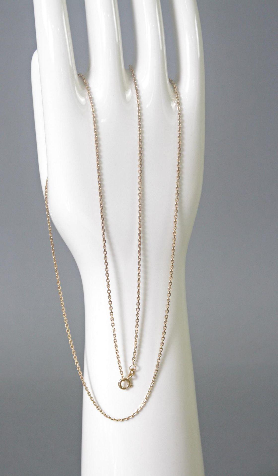 Halskette 8 Karat Gelbgold