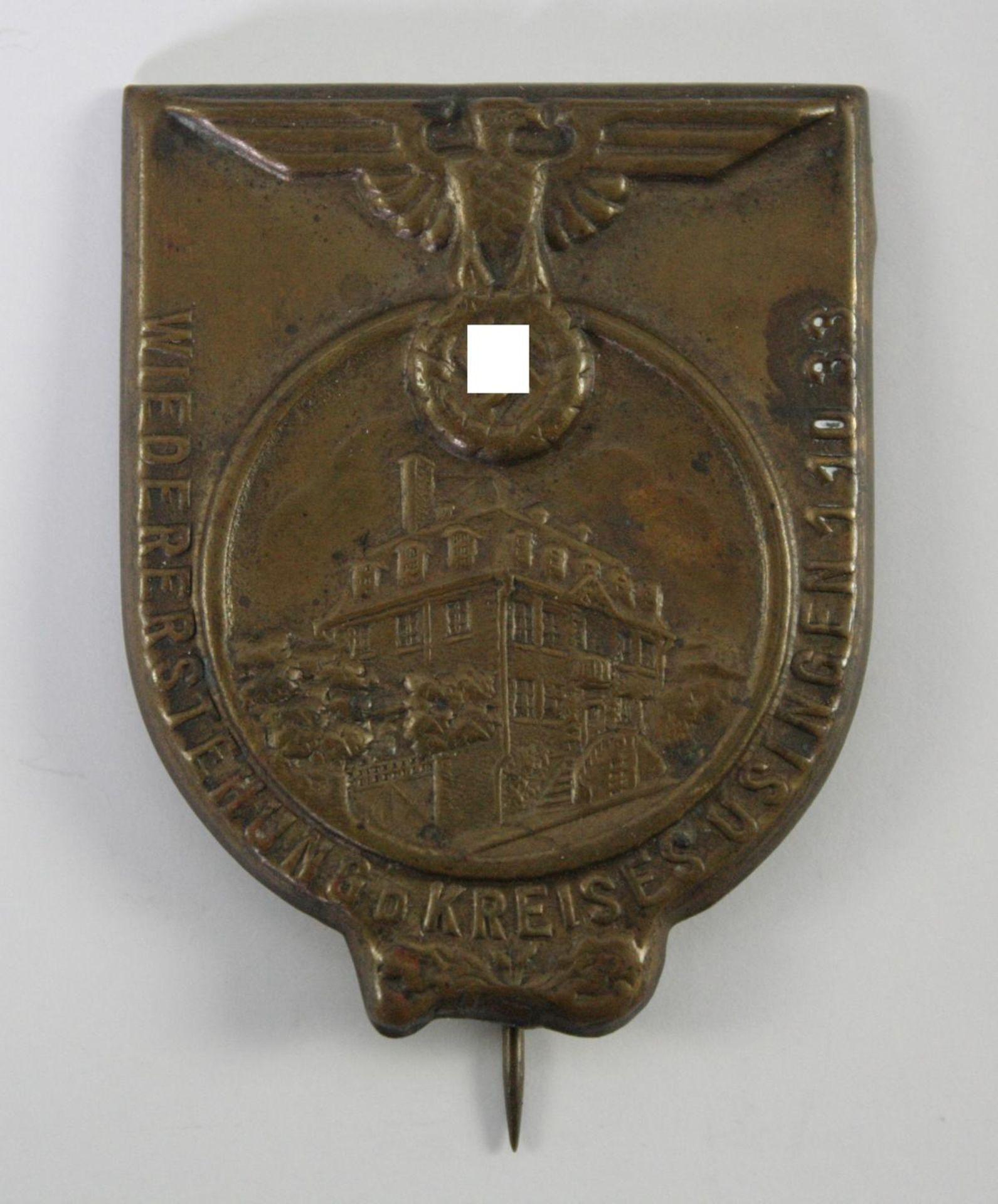 Abzeichen: Wiedererstehung des Kreises Usingen 1933