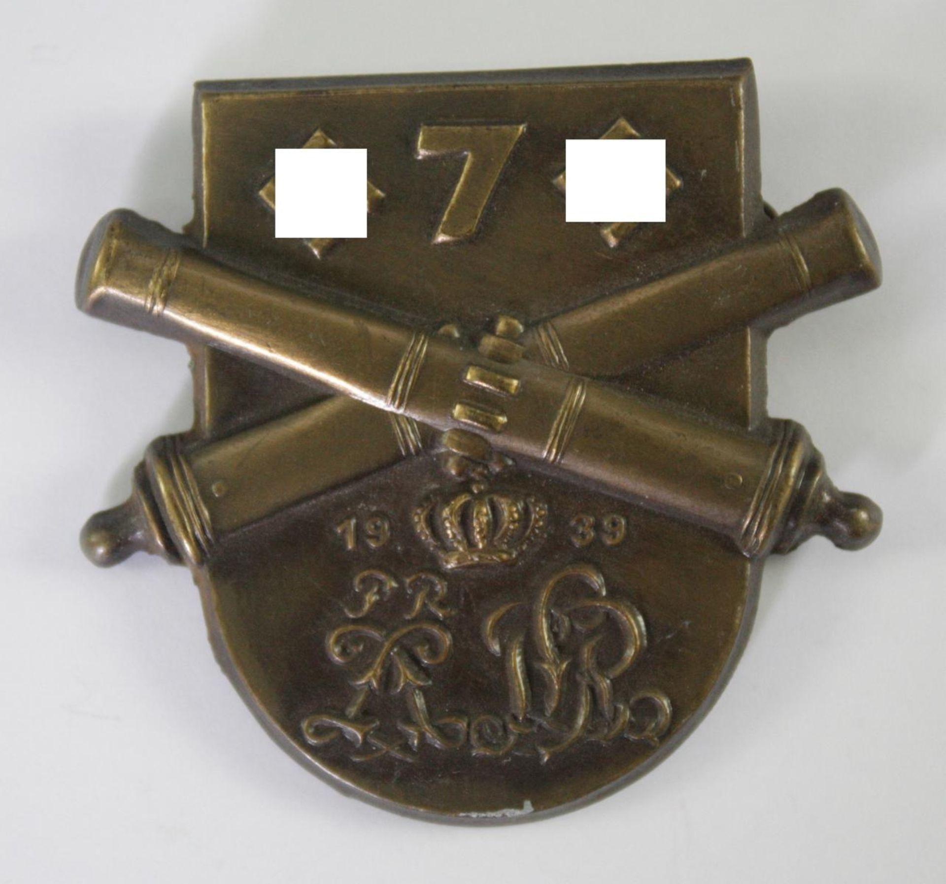 Abzeichen: 7. Preußisches Artillerieregiment 1939
