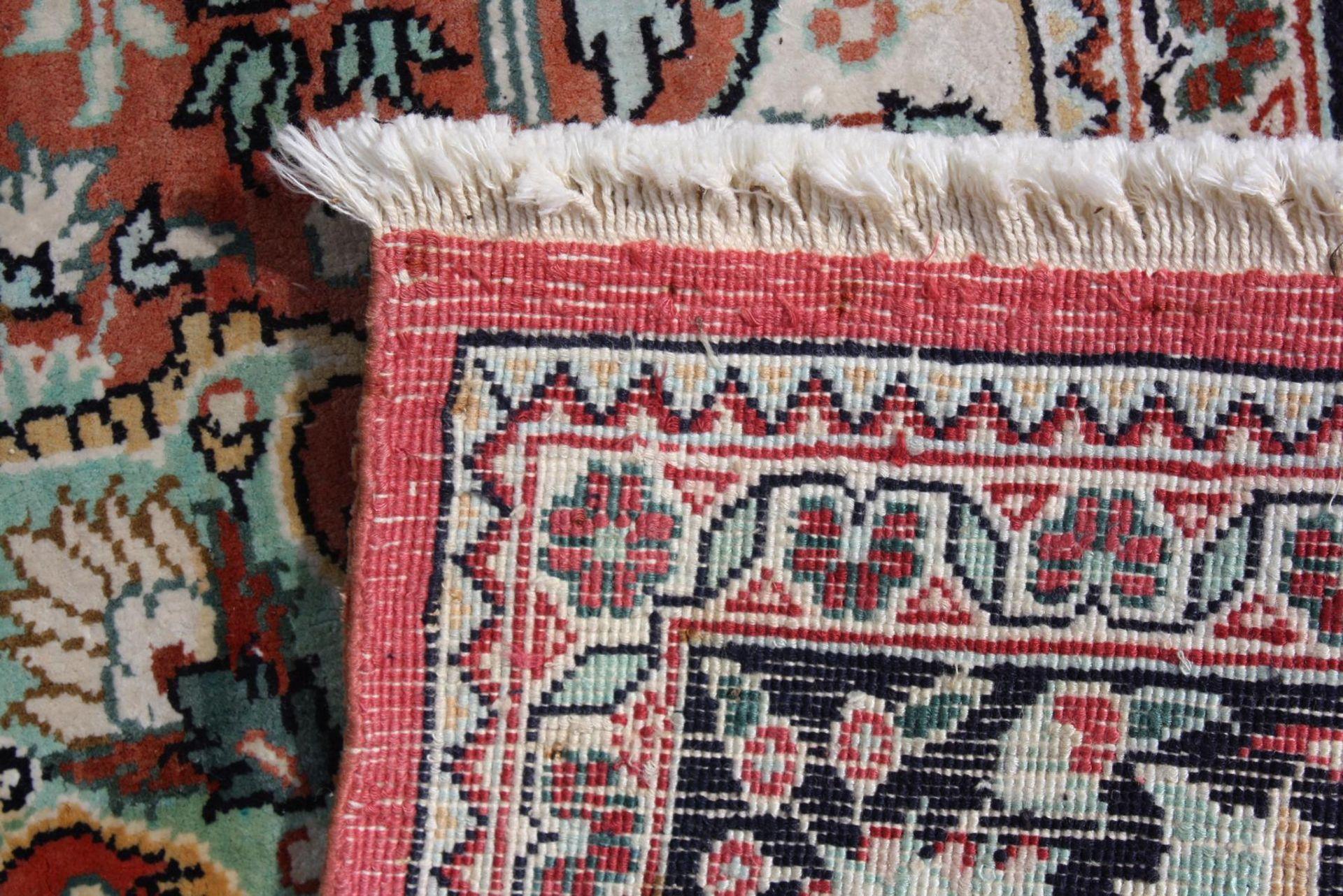 Kaschmir, Seidenteppich - Bild 4 aus 4