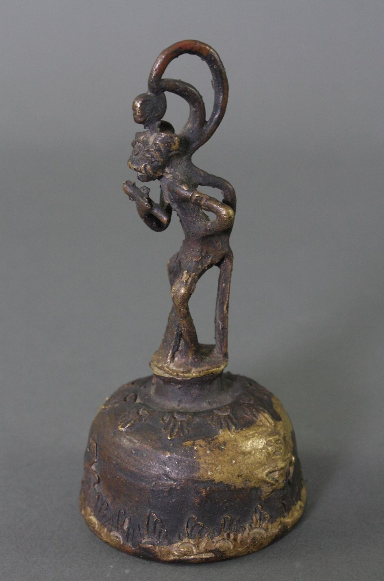 Hanuman-Glocke, Indien 19. Jahrhundert - Bild 2 aus 5