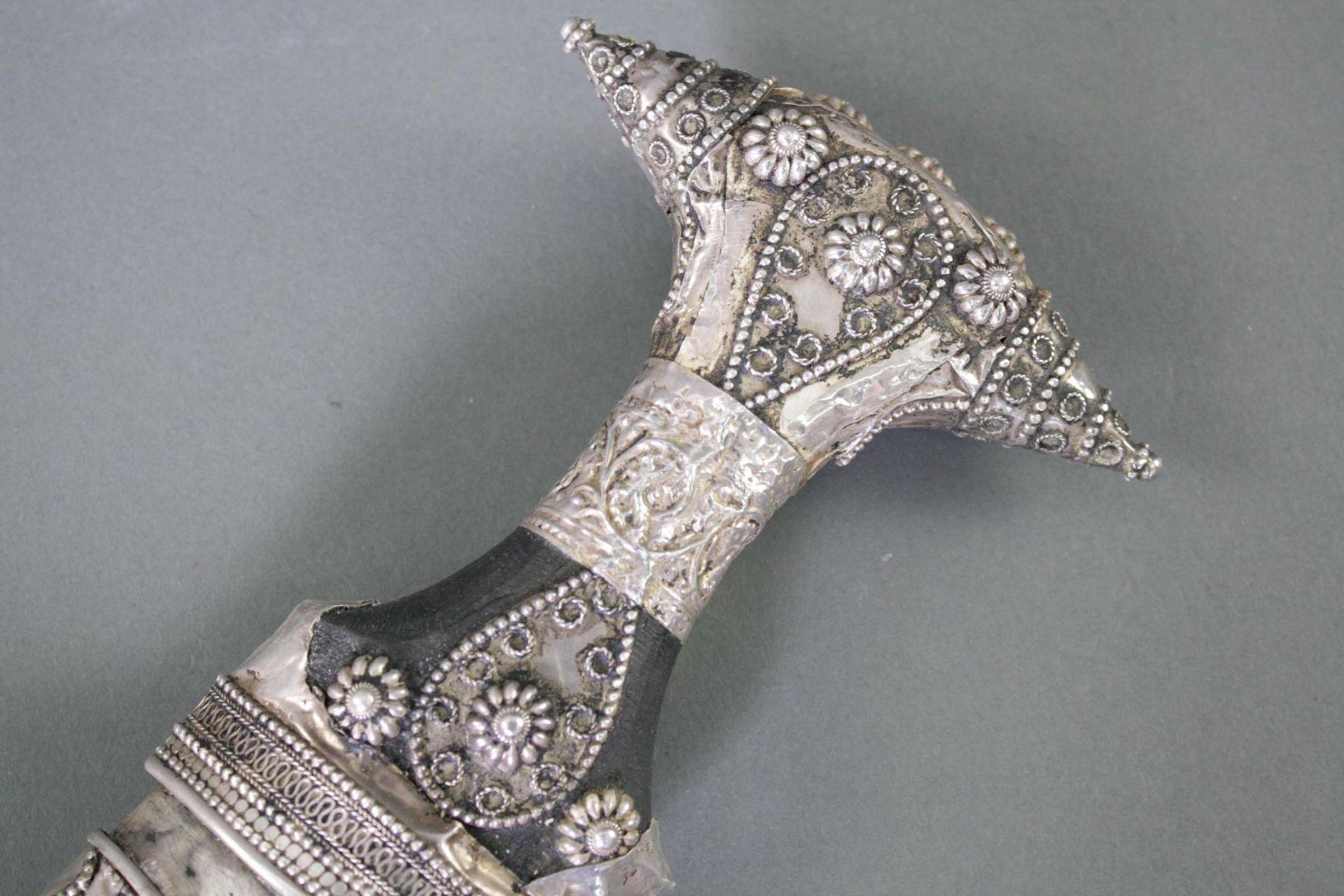 Jambiya Krummdolch, Saudi Arabien, 20. Jahrhundert - Bild 2 aus 6