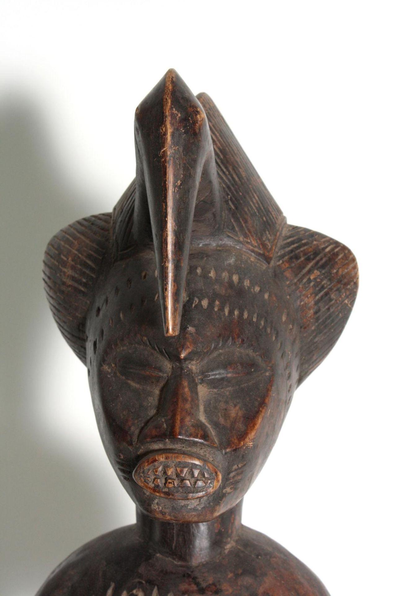 Maternité. Mutter-Kind-Figur, Senufo Elfenbeinküste, 1. Hälfte des 20. Jahrhunderts - Bild 2 aus 6