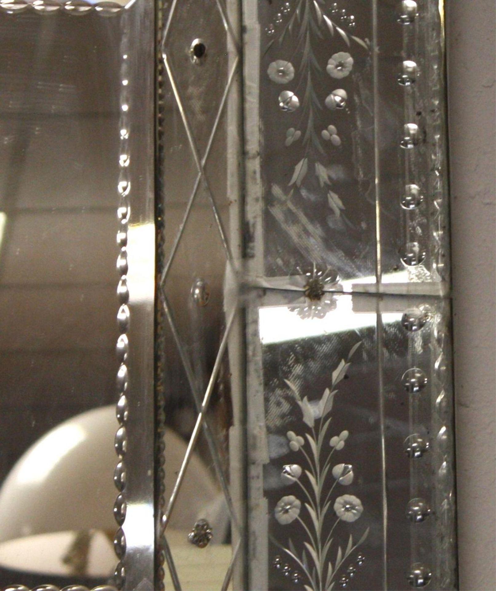 Venezianischer Spiegel, 20 Jahrhundert - Bild 2 aus 2