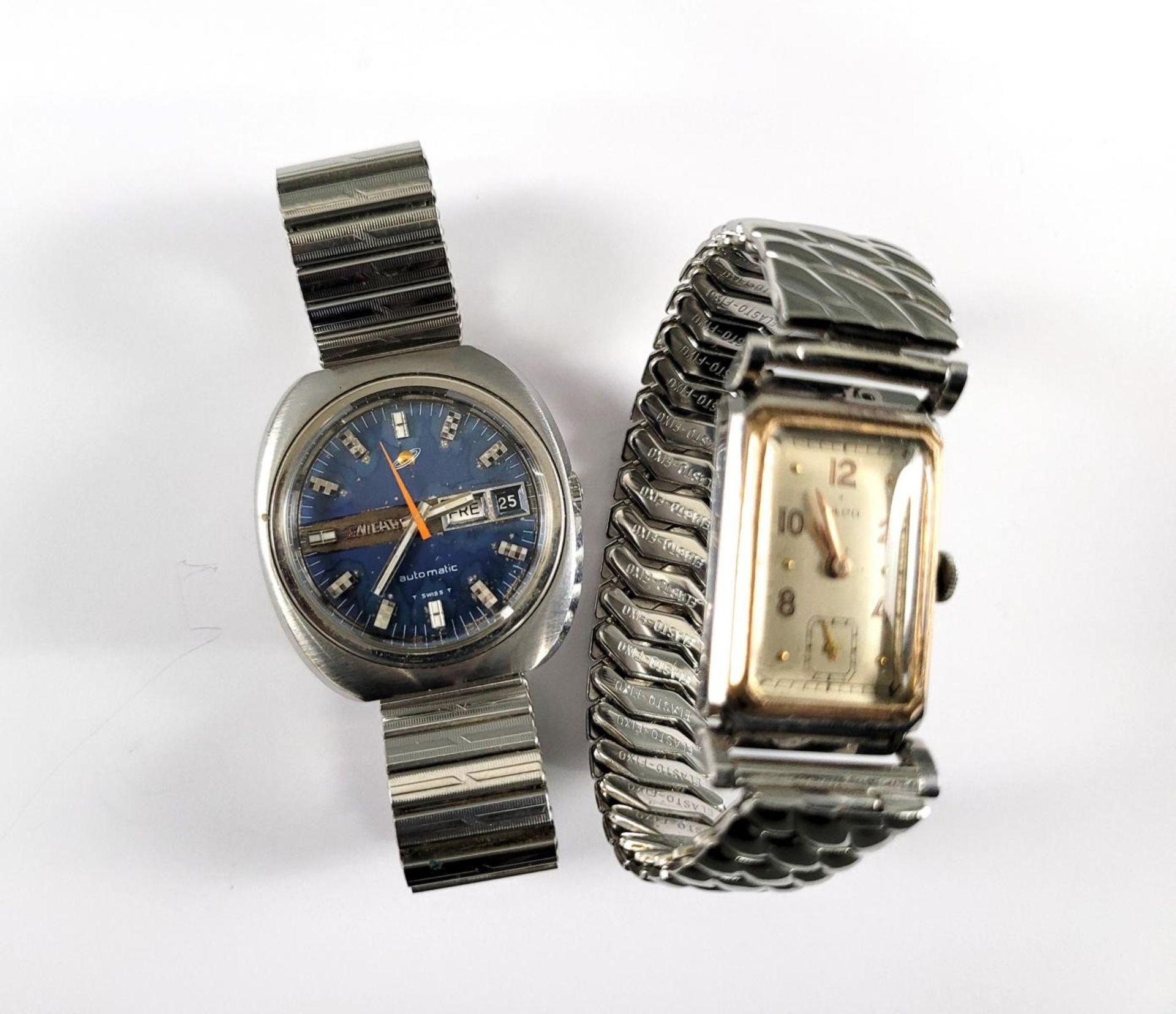 ENICAR Automatic Herrenarmbanduhr und LACO Damenarmbanduhr - Bild 2 aus 4