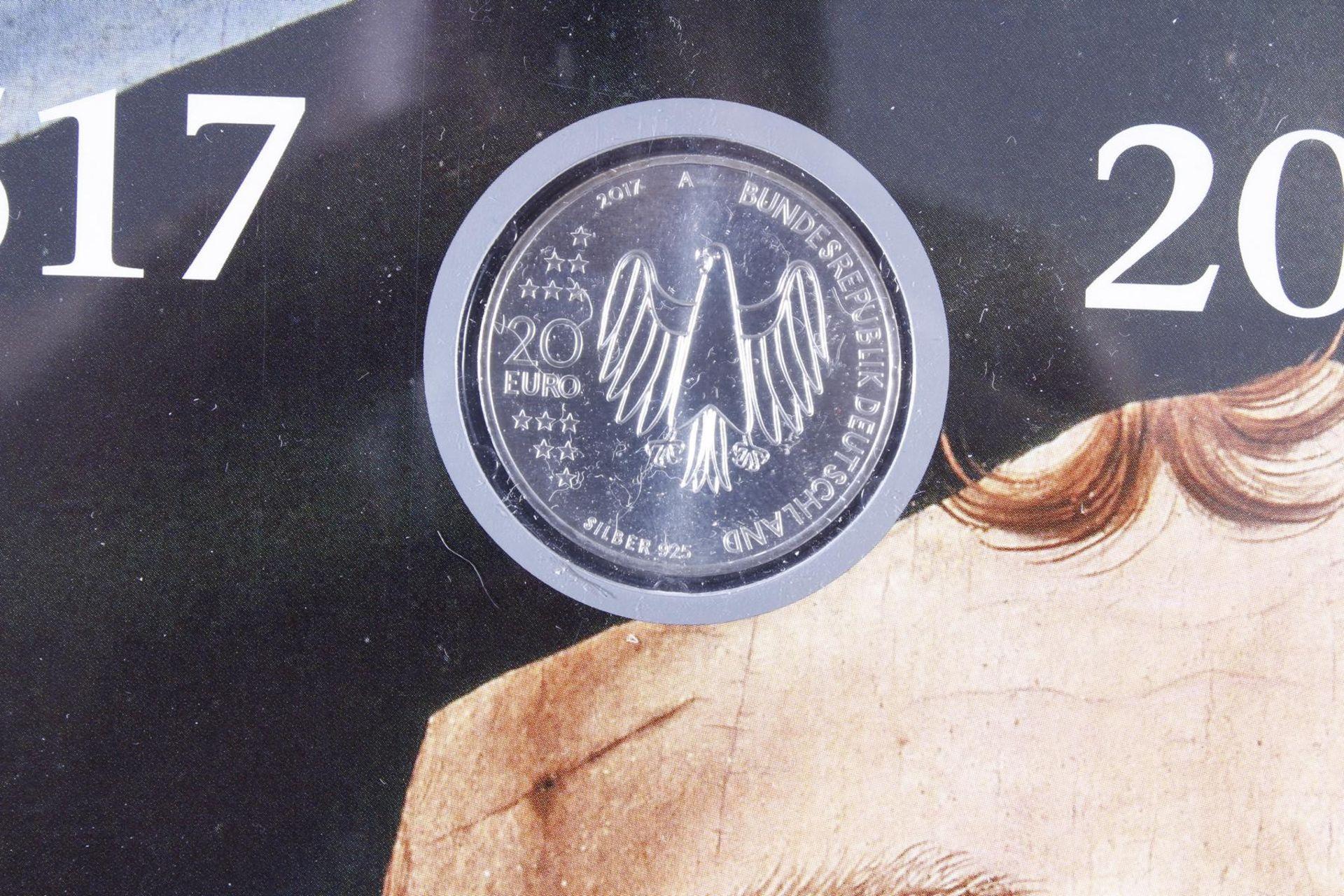 Münzsammlung Thema Vatikan / Kirche; inkl. Euro-Münzen - Bild 4 aus 4