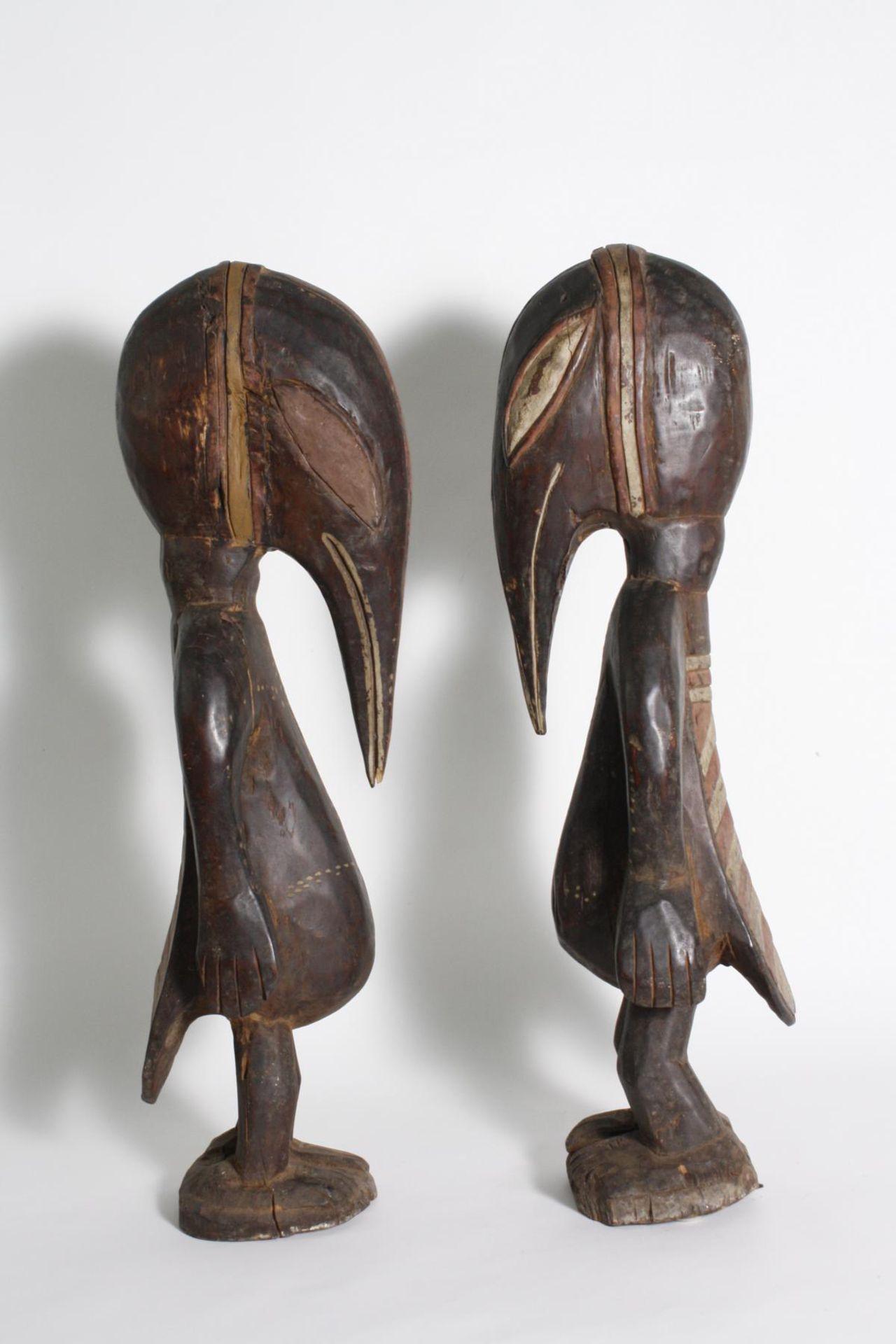 Figurenpaar, Calao , Senufo, Elfenbeinküste, 1. Hälfte 20. Jh. - Bild 5 aus 5
