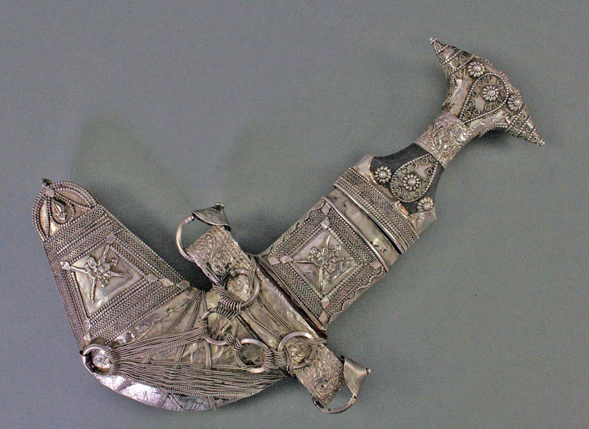 Jambiya Krummdolch, Saudi Arabien, 20. Jahrhundert