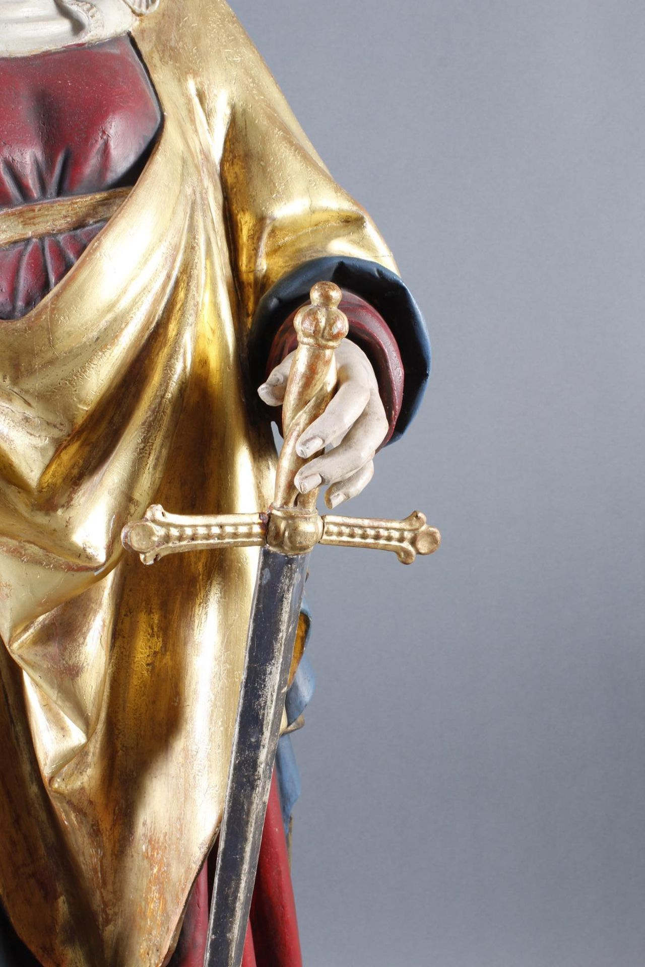 Madonna, Oberammergau um 1920 - Bild 3 aus 22