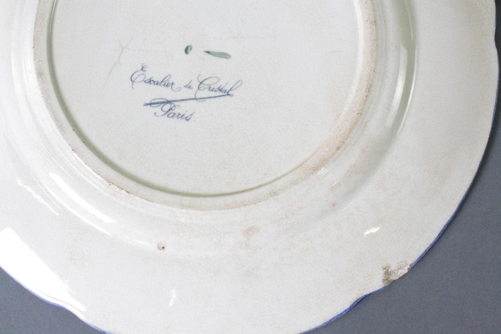 5 Keramikteller, Escalier de Cristal Paris - Bild 3 aus 4