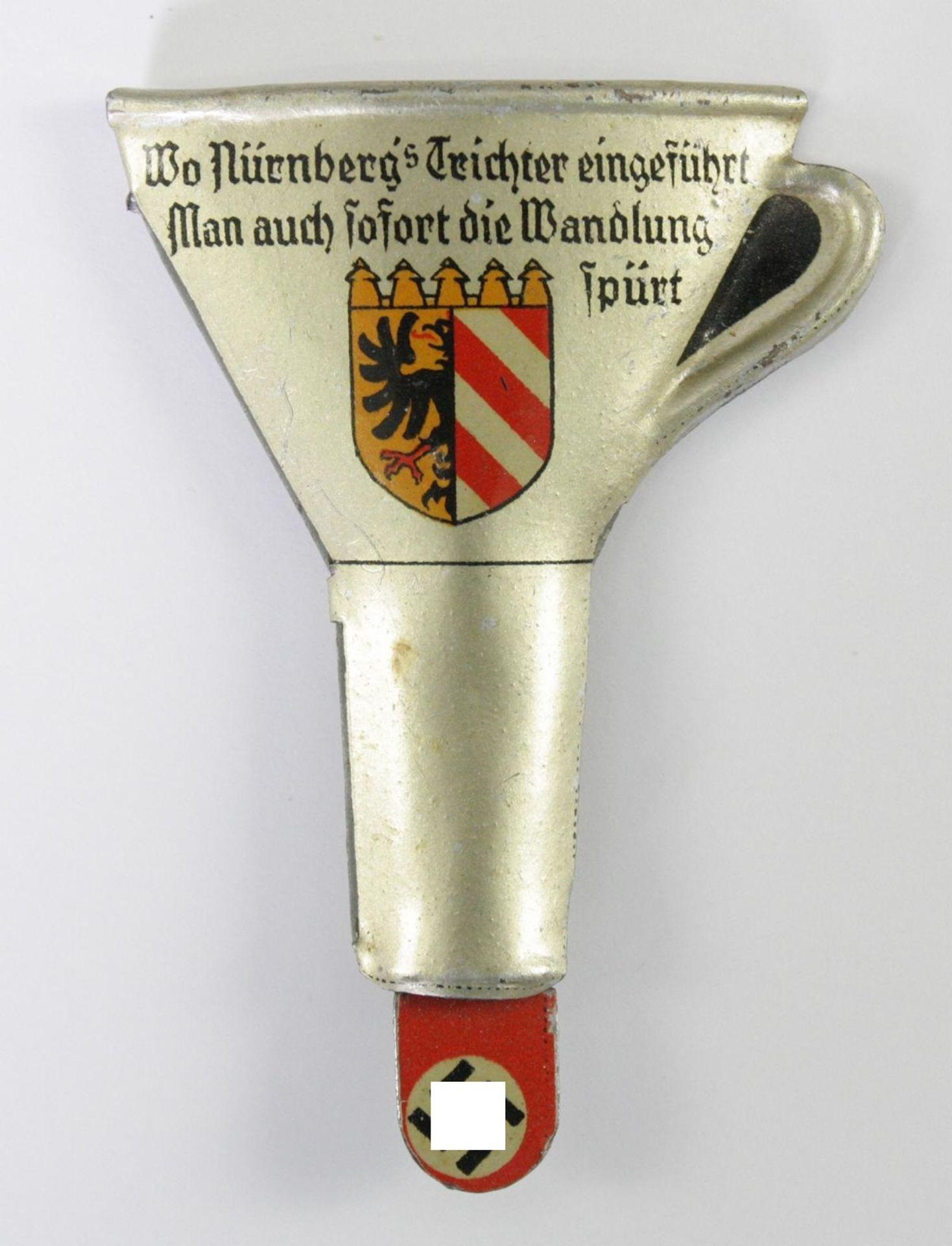 Sympathieabzeichen, Nürnbergs Trichter