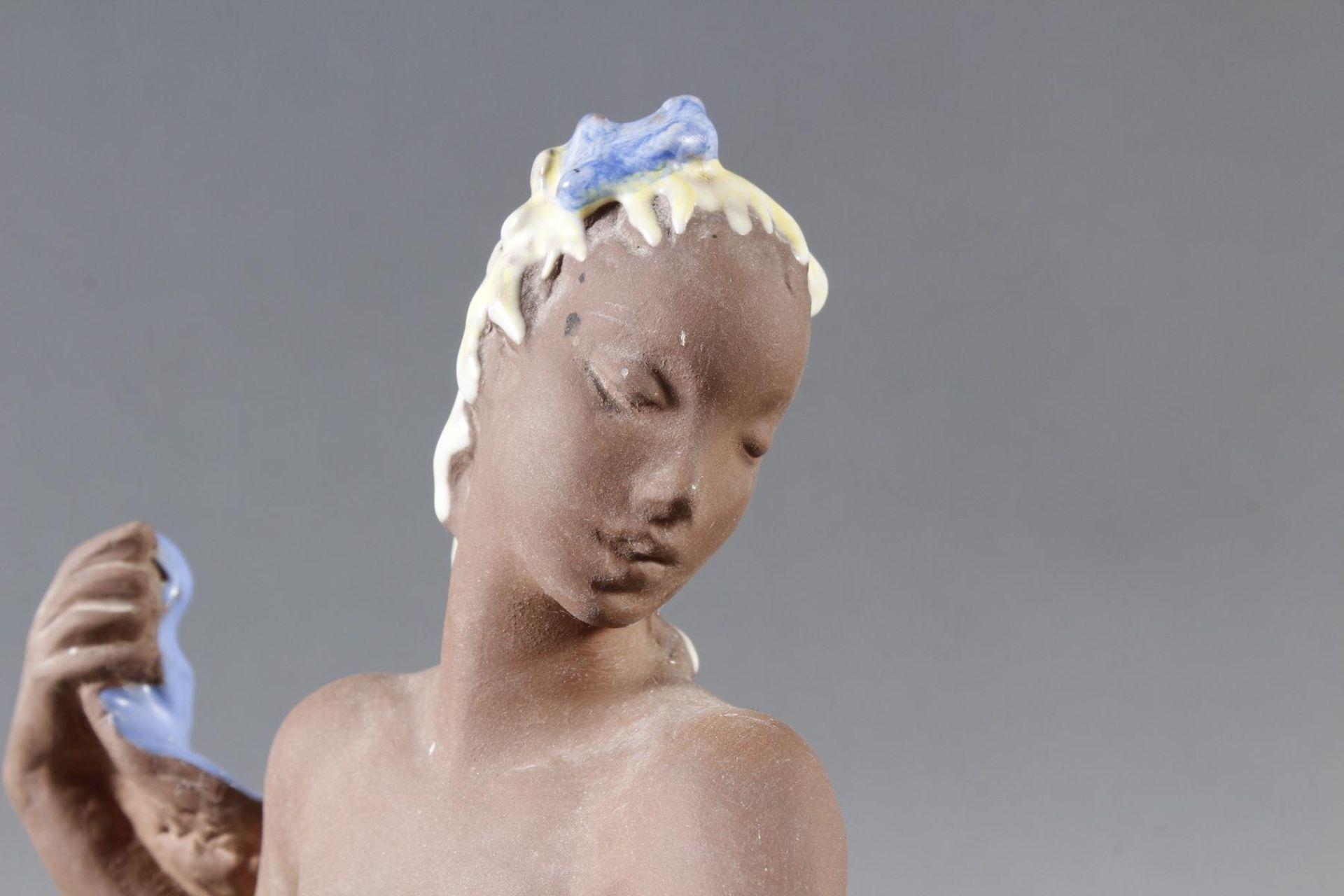 Karlsruher Majolika, Tänzerin, Nr. 6131, Lore Friedrich, Gronau 1956-62 - Bild 4 aus 7