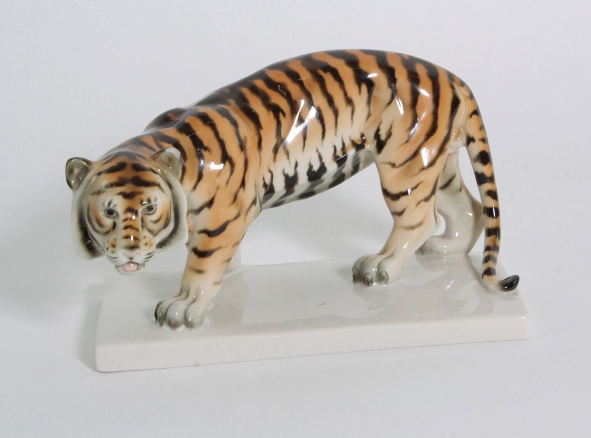 Tiger, Schwarzburger Werkstätten für Porzellankunst