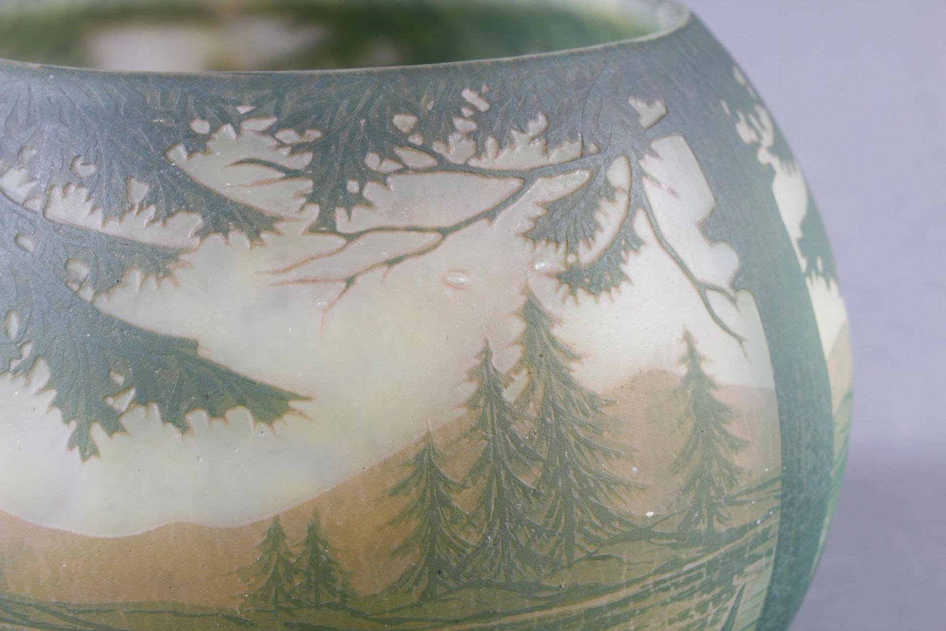 Daum Nancy, Vase Frankreich um 1900 - Bild 3 aus 9
