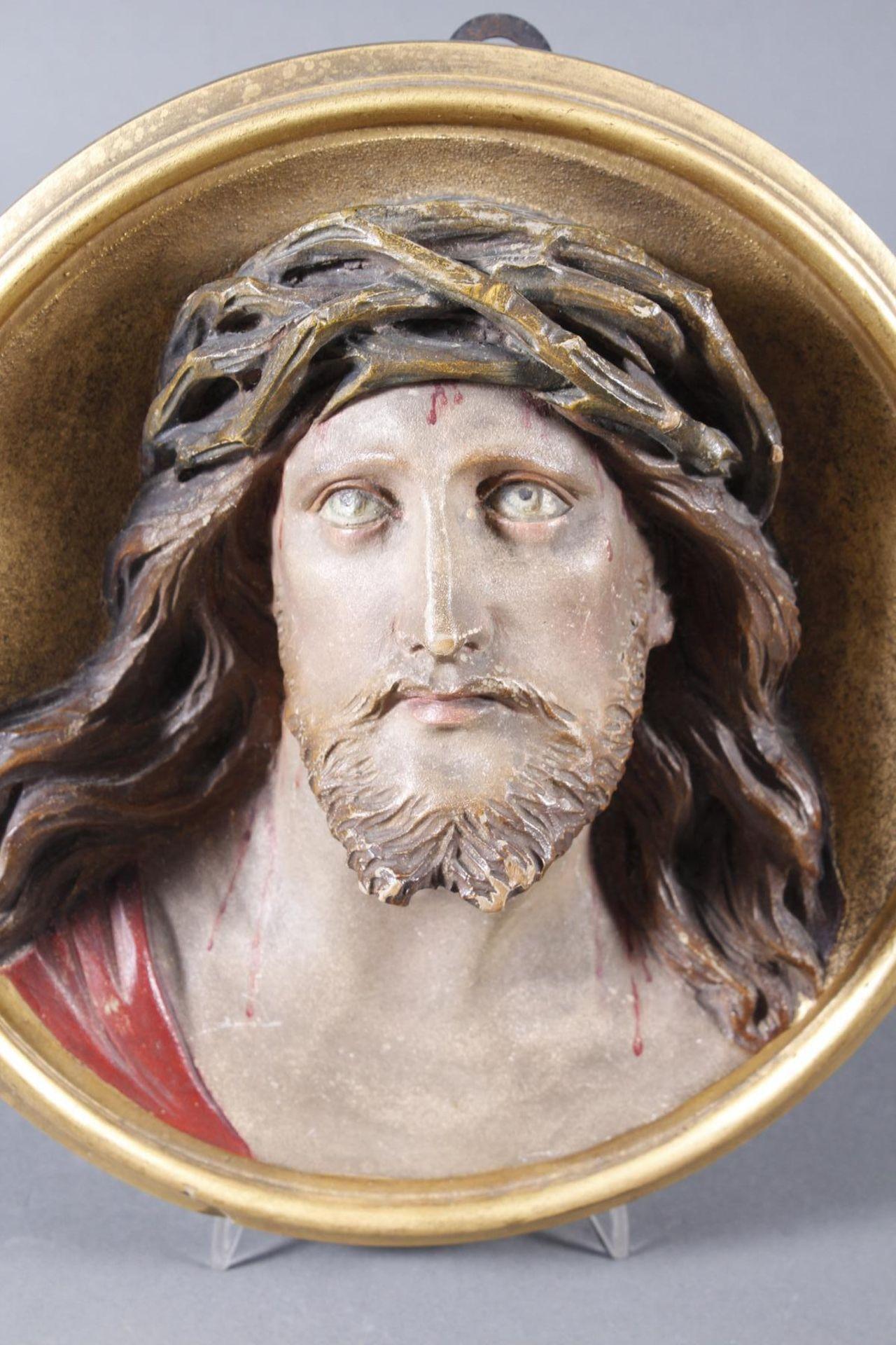 Holz Wandrelief, Christus, Süddeutsch um 1880 - Bild 2 aus 6
