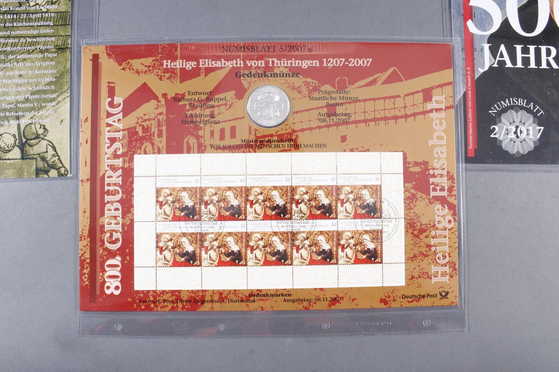 Münzsammlung Thema Vatikan / Kirche; inkl. Euro-Münzen - Bild 2 aus 4