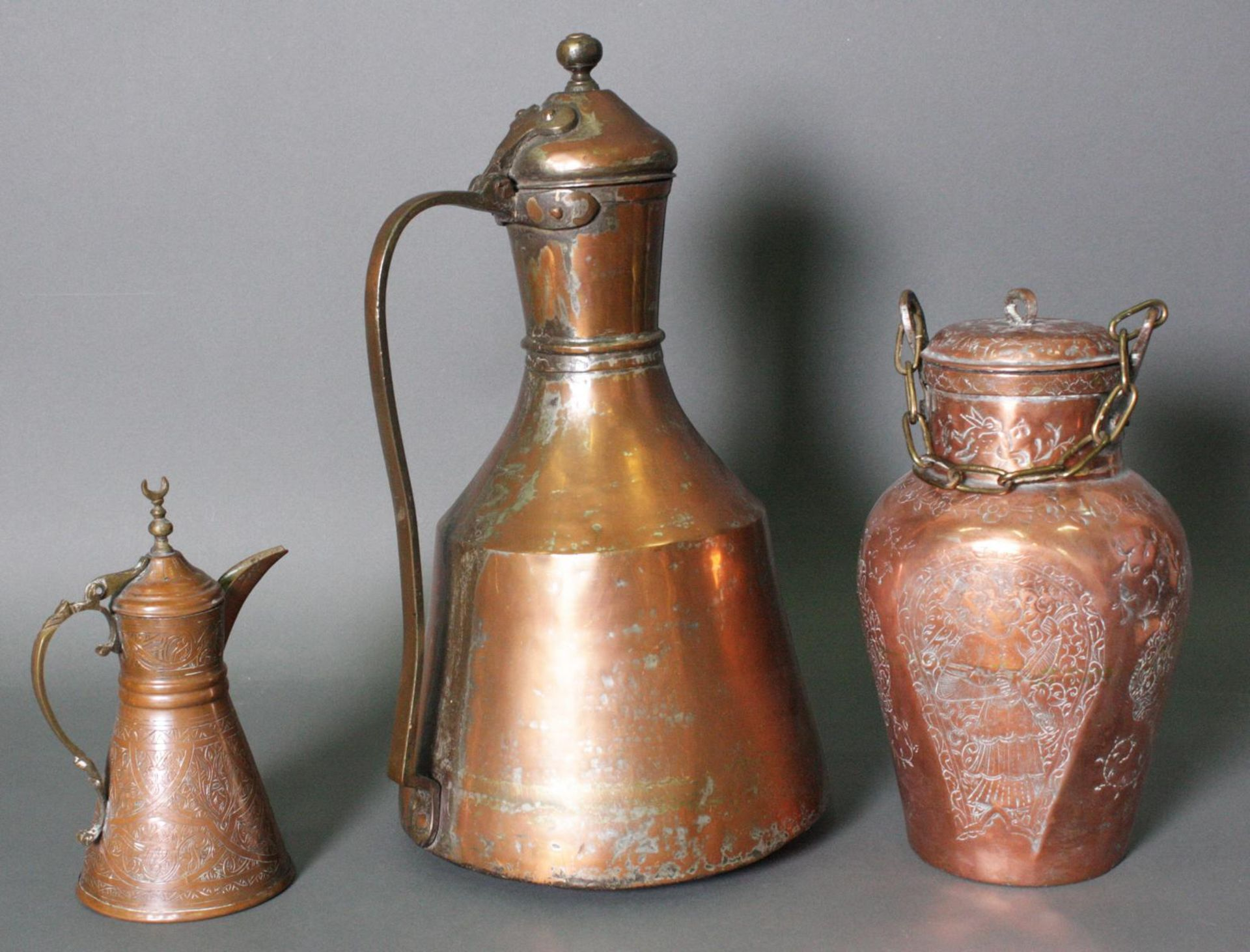 3 orientalische Gefäße - Bild 2 aus 6