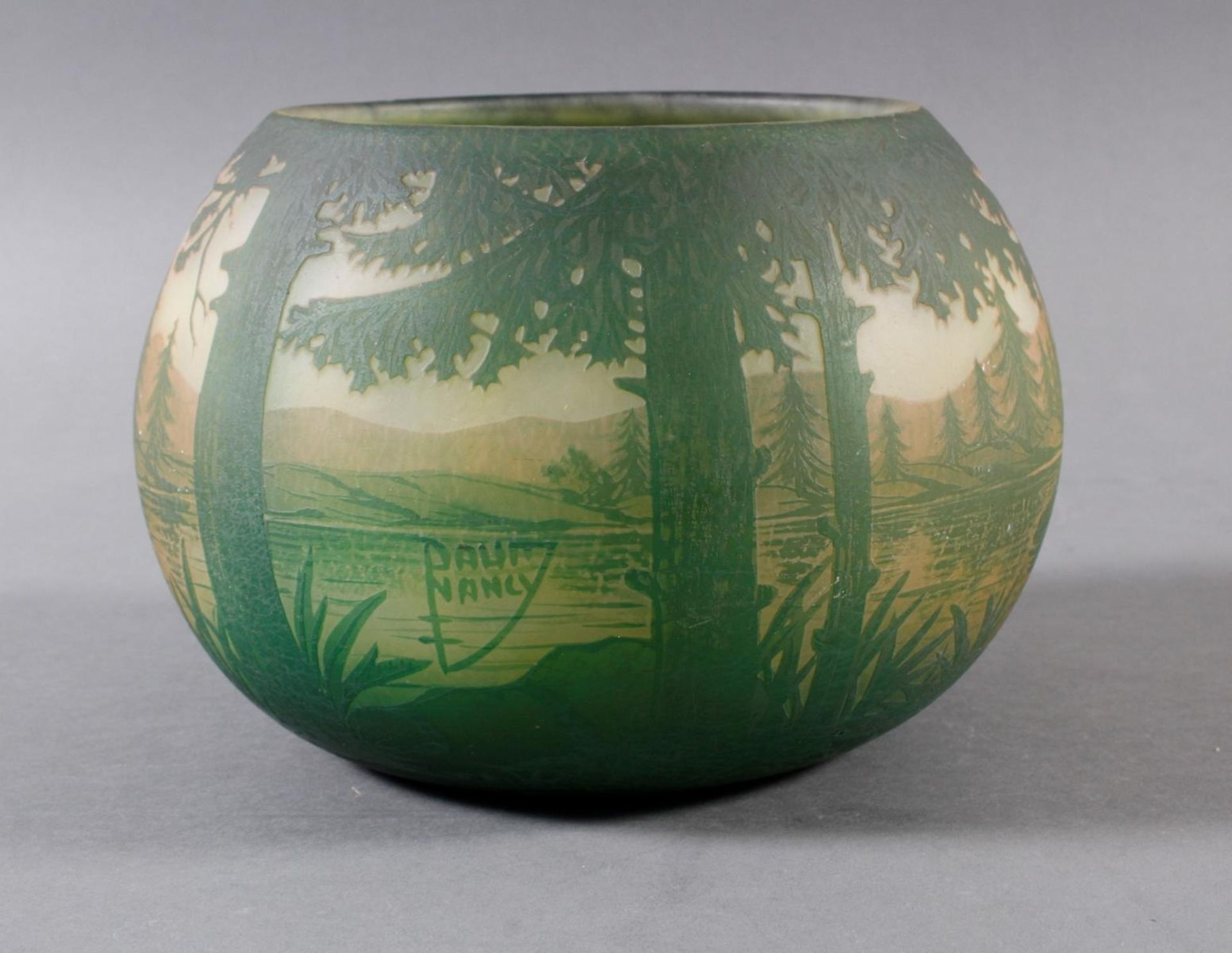 Daum Nancy, Vase Frankreich um 1900 - Bild 6 aus 9