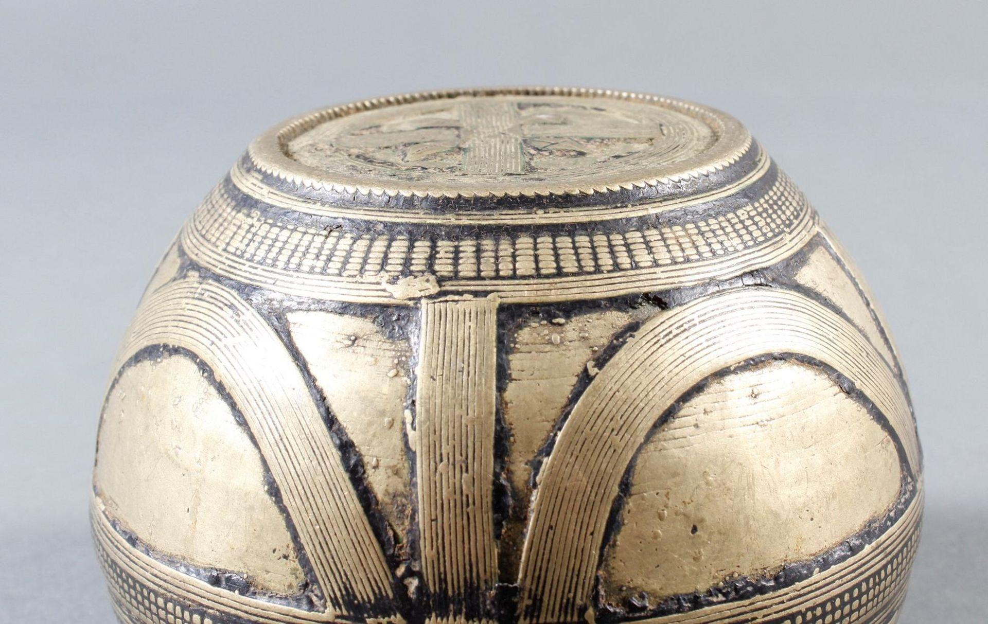 Bronze Reismaß, Afrika, Senufo / Elfenbeinküste, 19. Jahrhundert - Bild 5 aus 10
