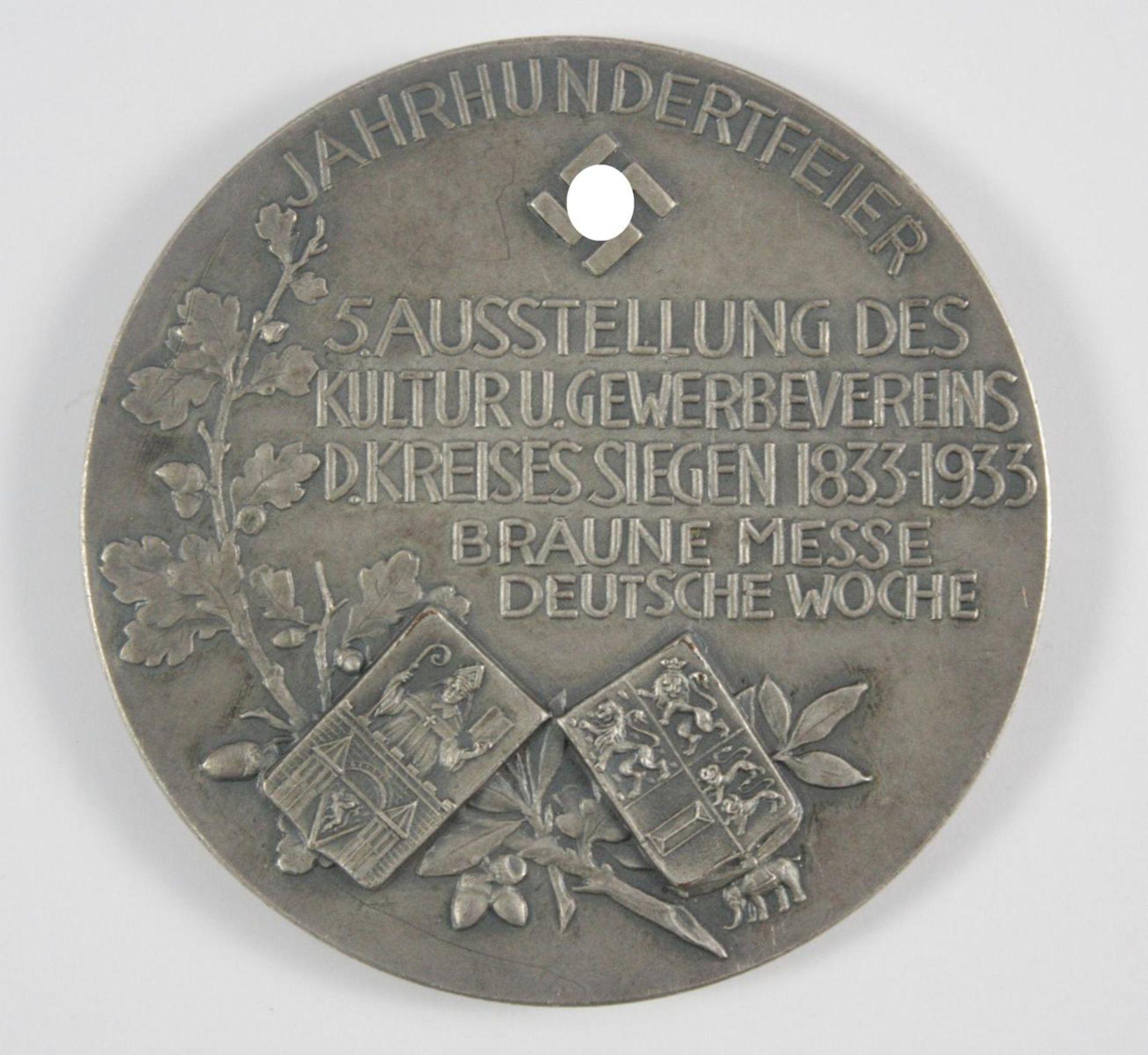 Silberpreismedaille Braune Messe 1933 - Bild 2 aus 2