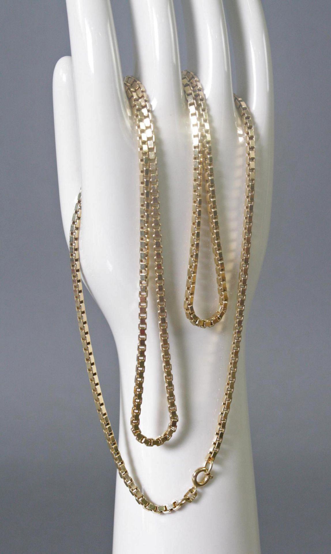 Halskette 14 Karat Gelbgold