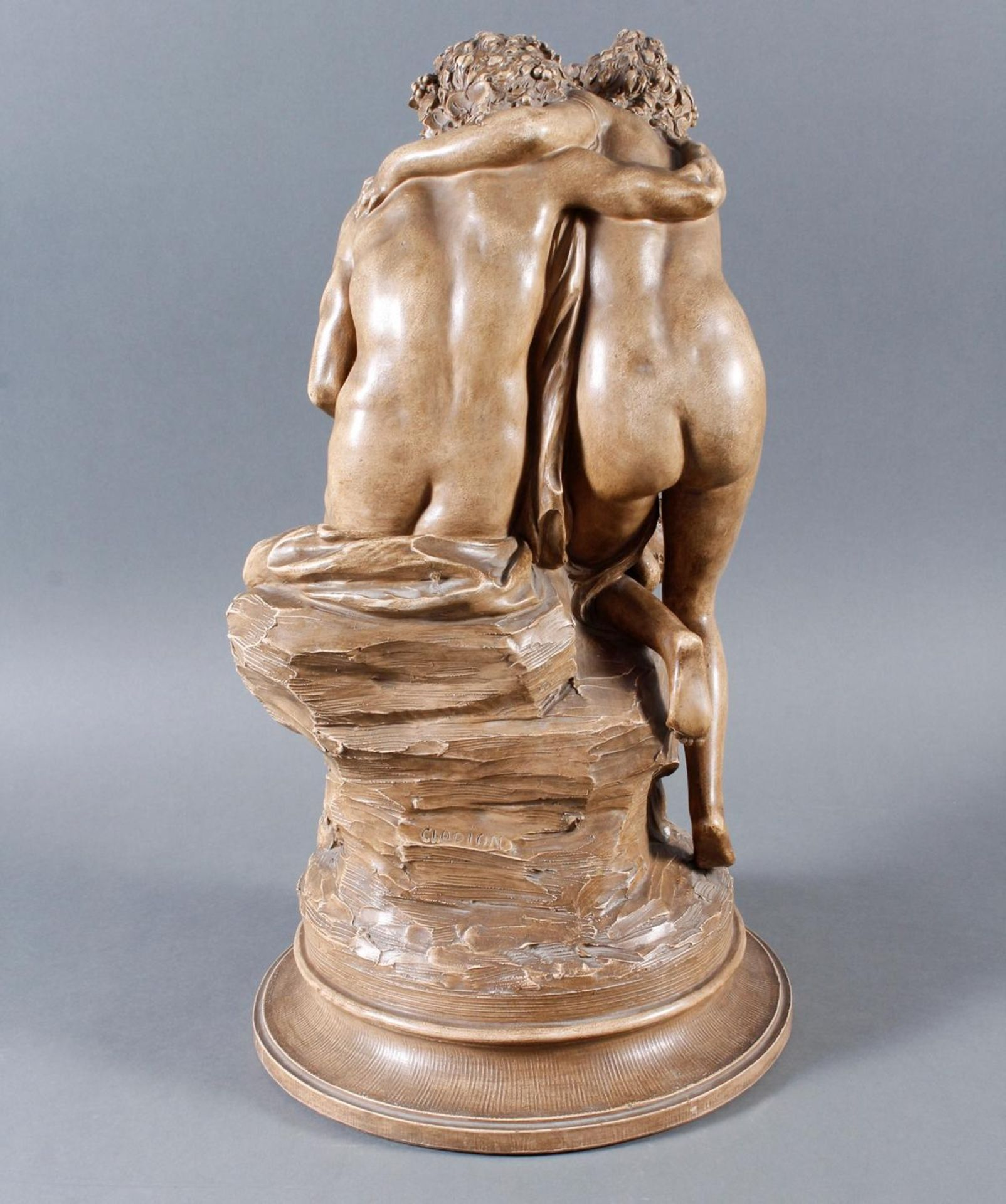 Terakottafigur, Clodion, Claude-Michel (1738-1814), 19. Jahrhundert - Bild 7 aus 18