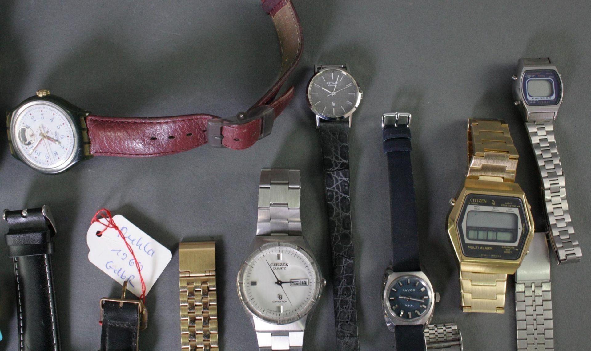 Konvolut Armbanduhren - Bild 6 aus 7