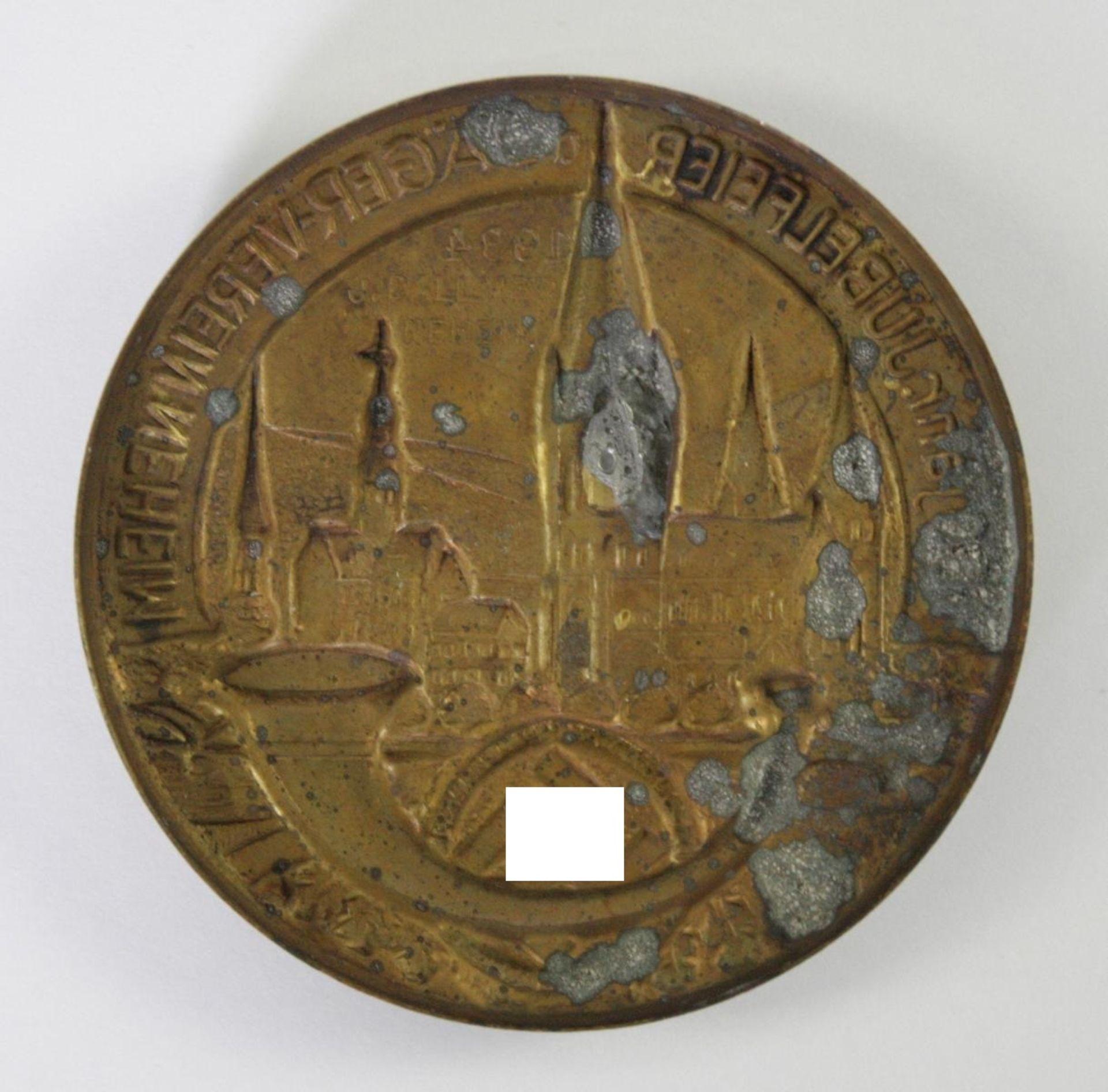Veranstaltungsabzeichen, 100 jährige Jubelfeier des Jäger-Vereins Neheim 1934 - Bild 2 aus 2