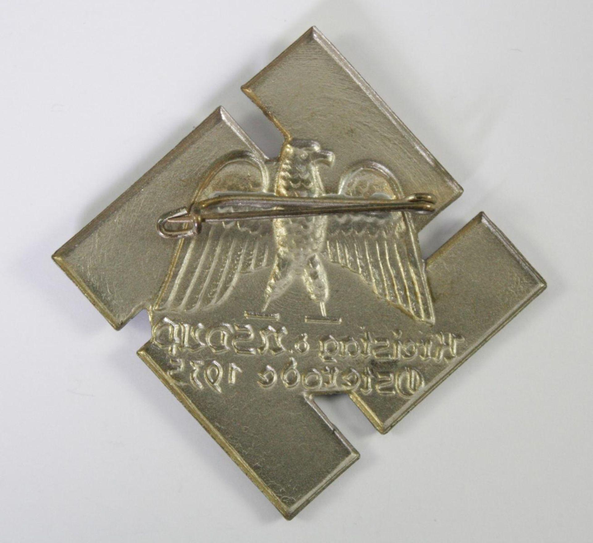 Abzeichen: Kreistag der NSDAP Osterode 1935 - Bild 2 aus 2