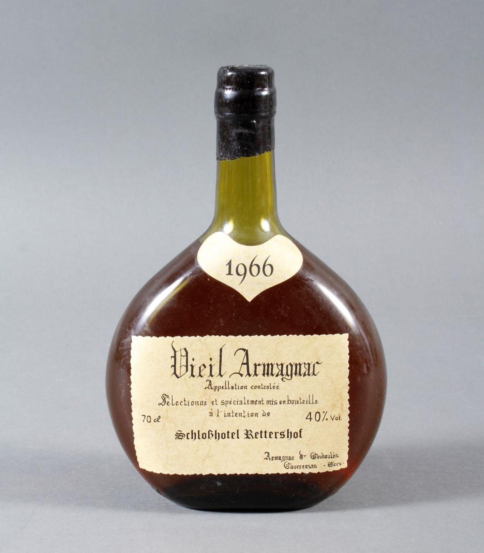 Armagnac de Goudoulin, 1966