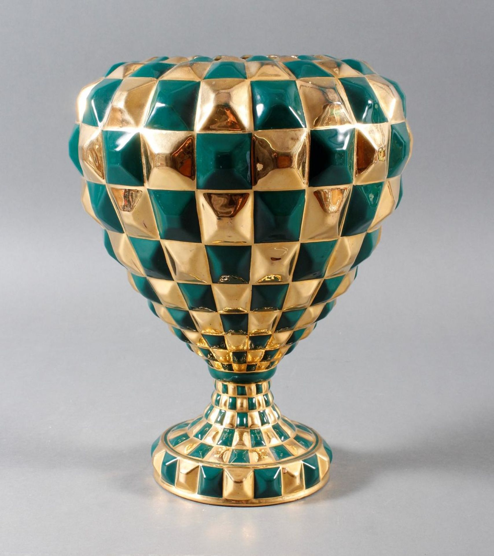 Designer-Keramikvase, wohl 1960er Jahre
