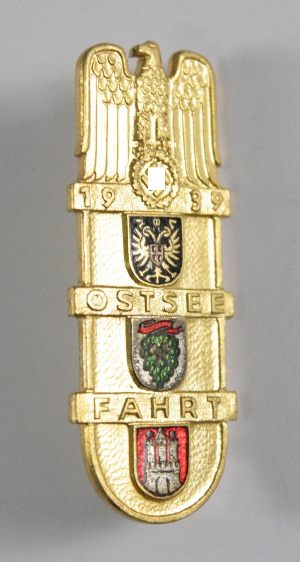 Abzeichen, KdF Ostseefahrt 1939