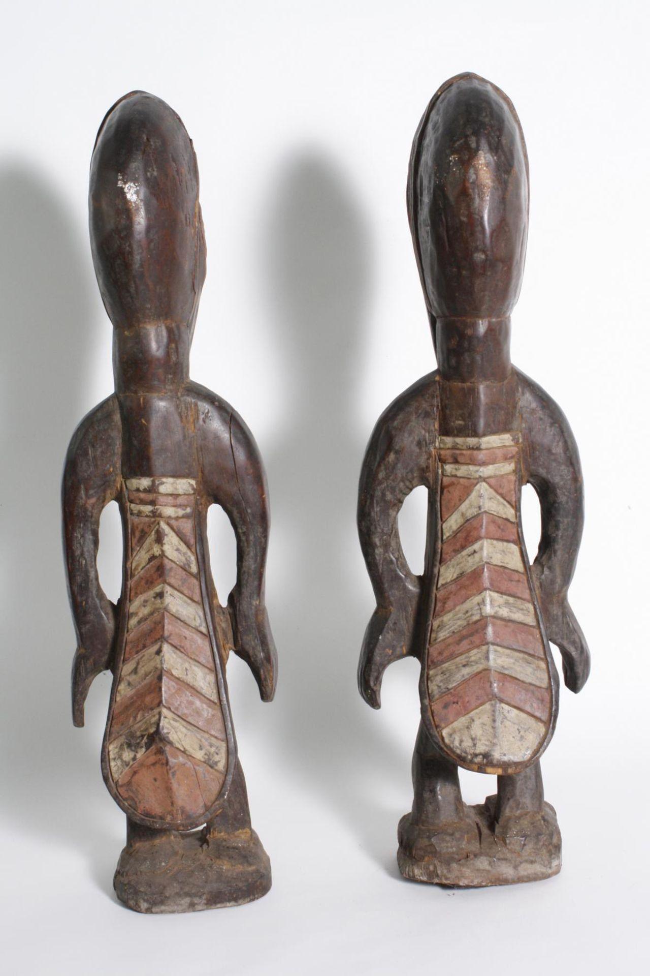 Figurenpaar, Calao , Senufo, Elfenbeinküste, 1. Hälfte 20. Jh. - Bild 3 aus 5