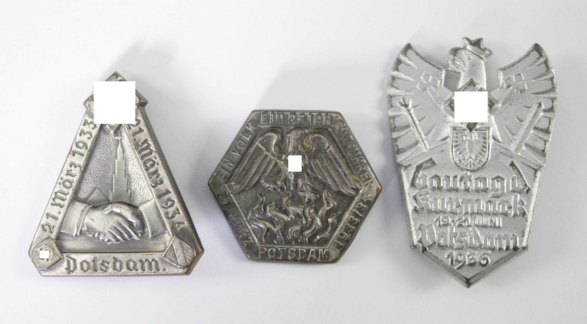 3 Abzeichen Thema Potsdam