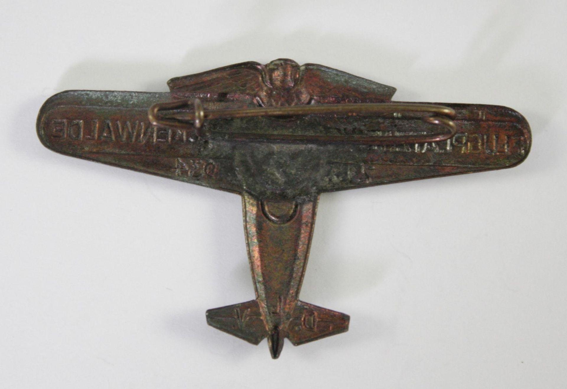 Veranstaltungsabzeichen, Flugplatzweihe Luckenwalde 1934 - Bild 2 aus 2
