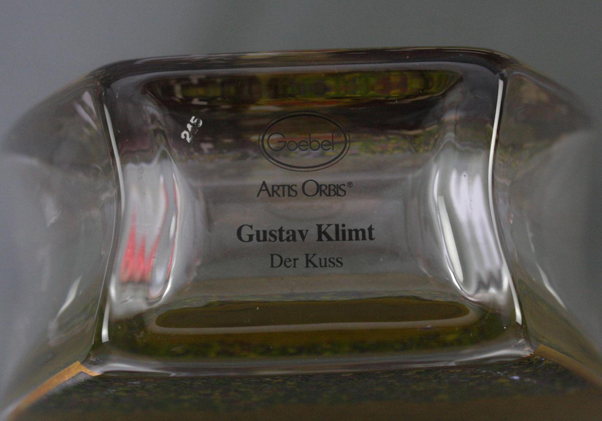 Zwei Goebel Artis Orbis Gustav Klimt Vasen. Porzellan und Glas - Bild 6 aus 7