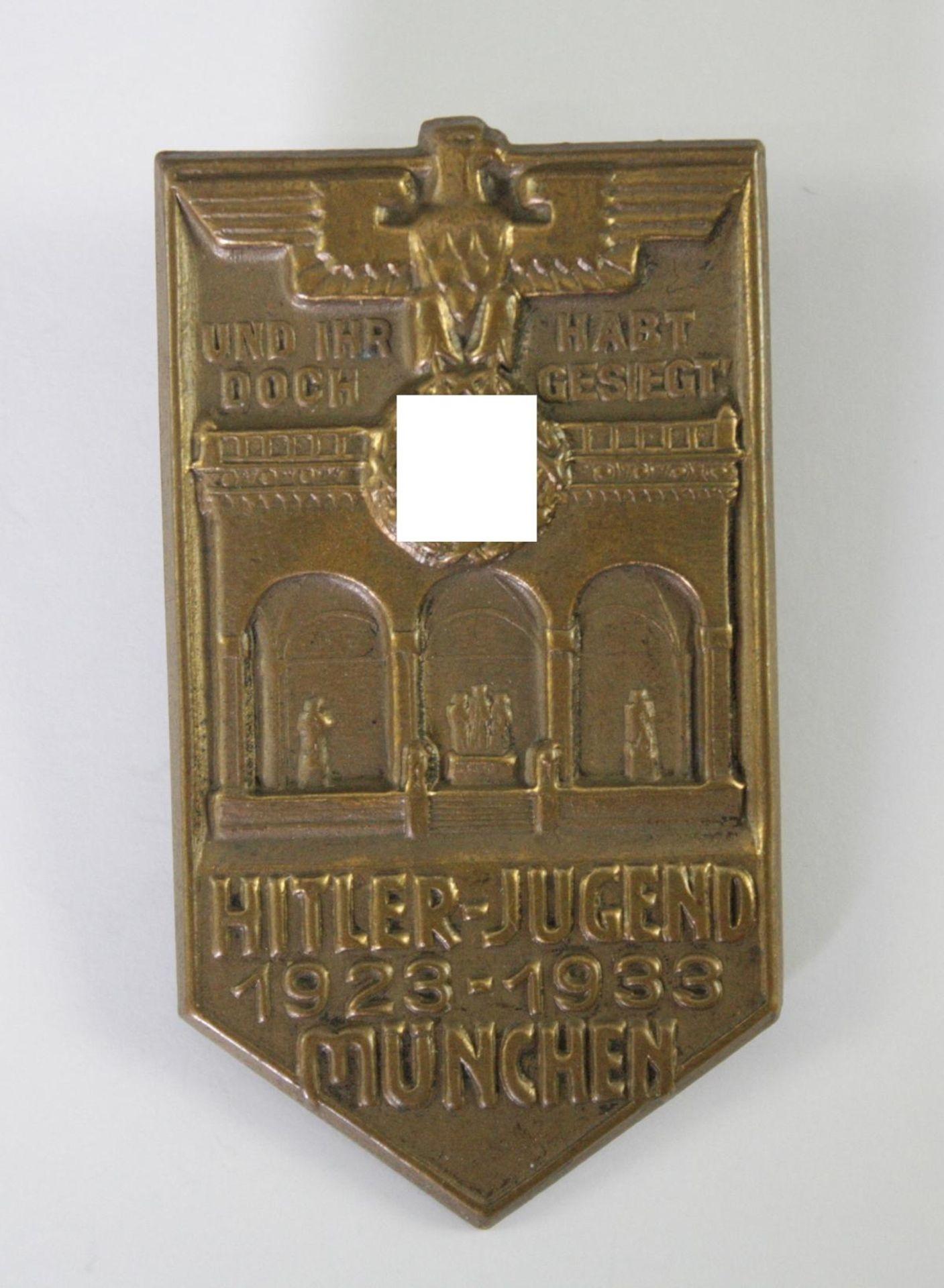 Abzeichen , Hitlerjugend München 1923-1933