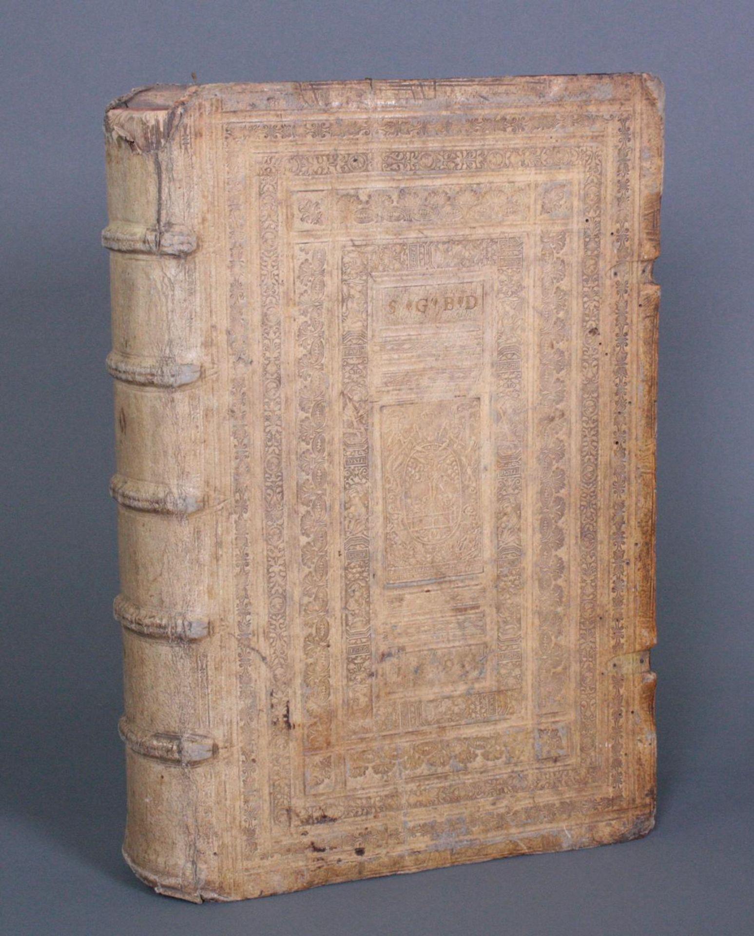 Griechische-Lateinische Bibel, Novum Testamentum 1582