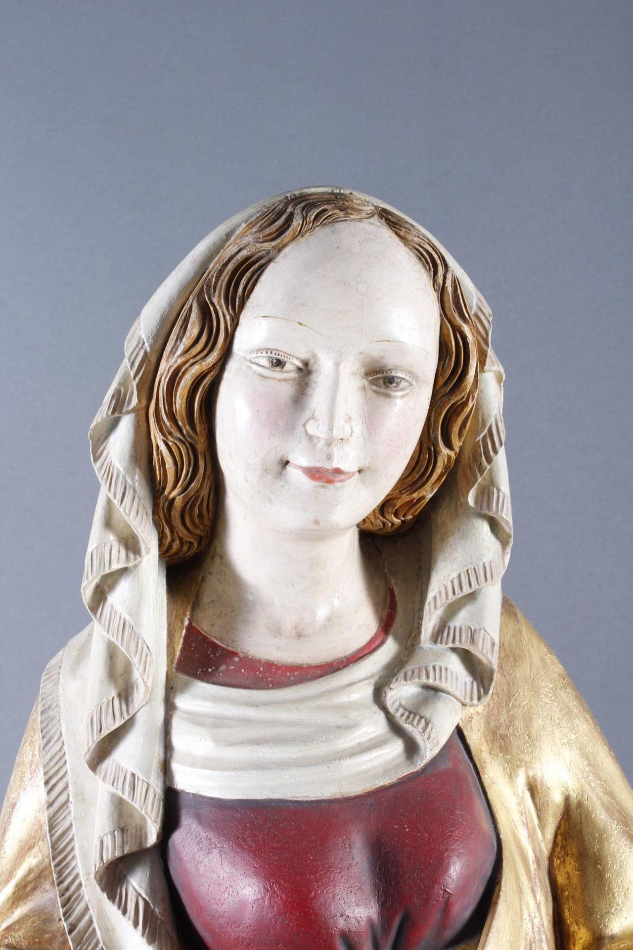 Madonna, Oberammergau um 1920 - Bild 2 aus 22